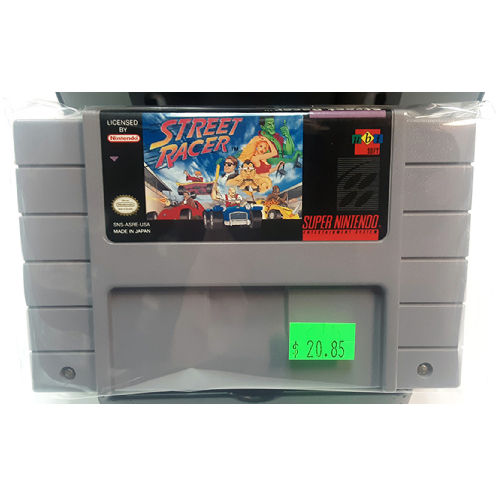 SNESu-Street Racer (cartridge)
