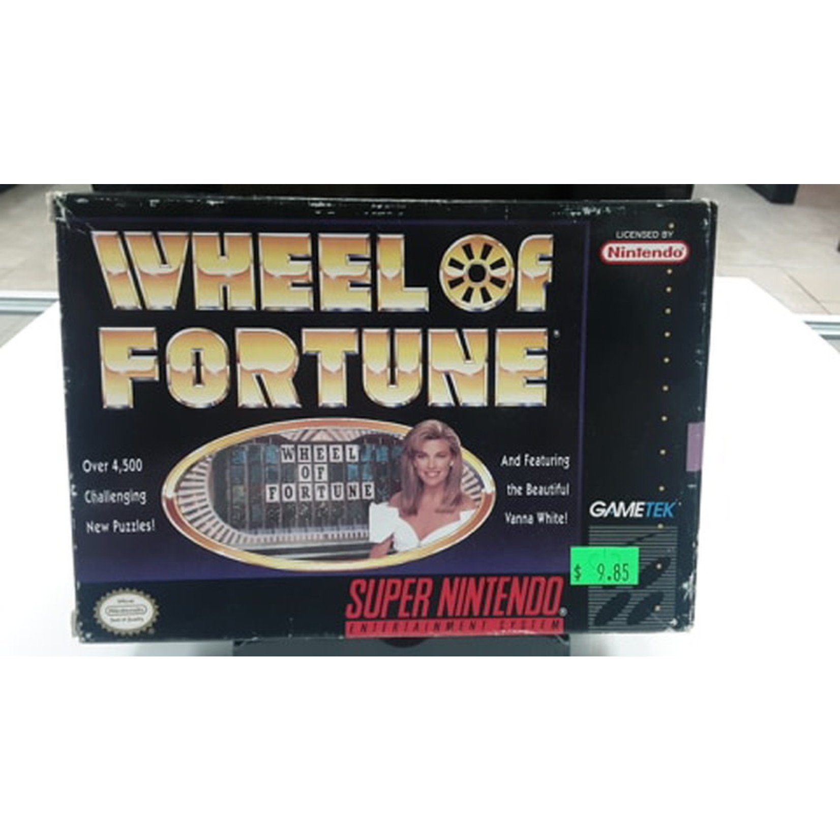 snesu-Wheel of Fortune (in box)