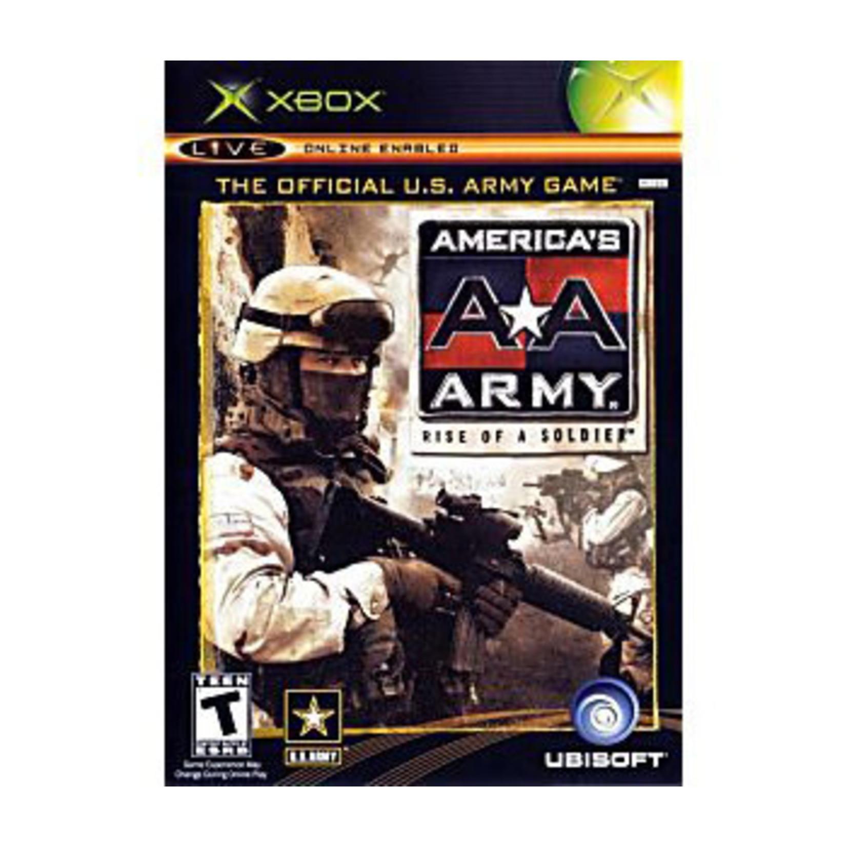 XBU-AMERICAS ARMY RISE OF A SOLDIER