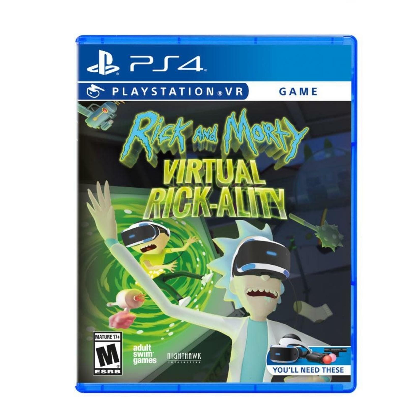 ps4-Rick and Morty Virtual Rick-ality PSVR