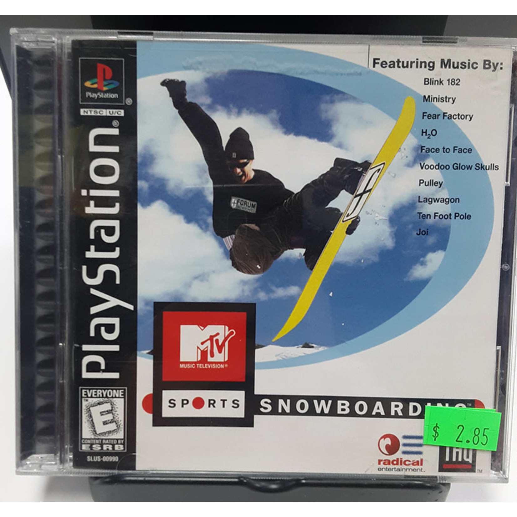 ps1u-mtv sports: snowboarding