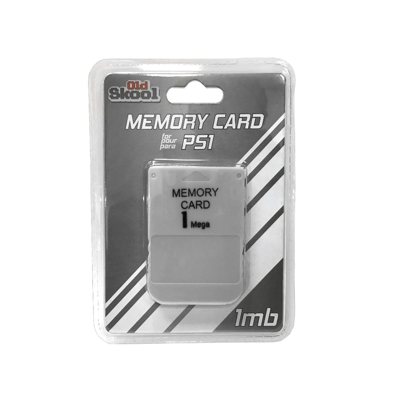 Old Skool PS1 Memory Card