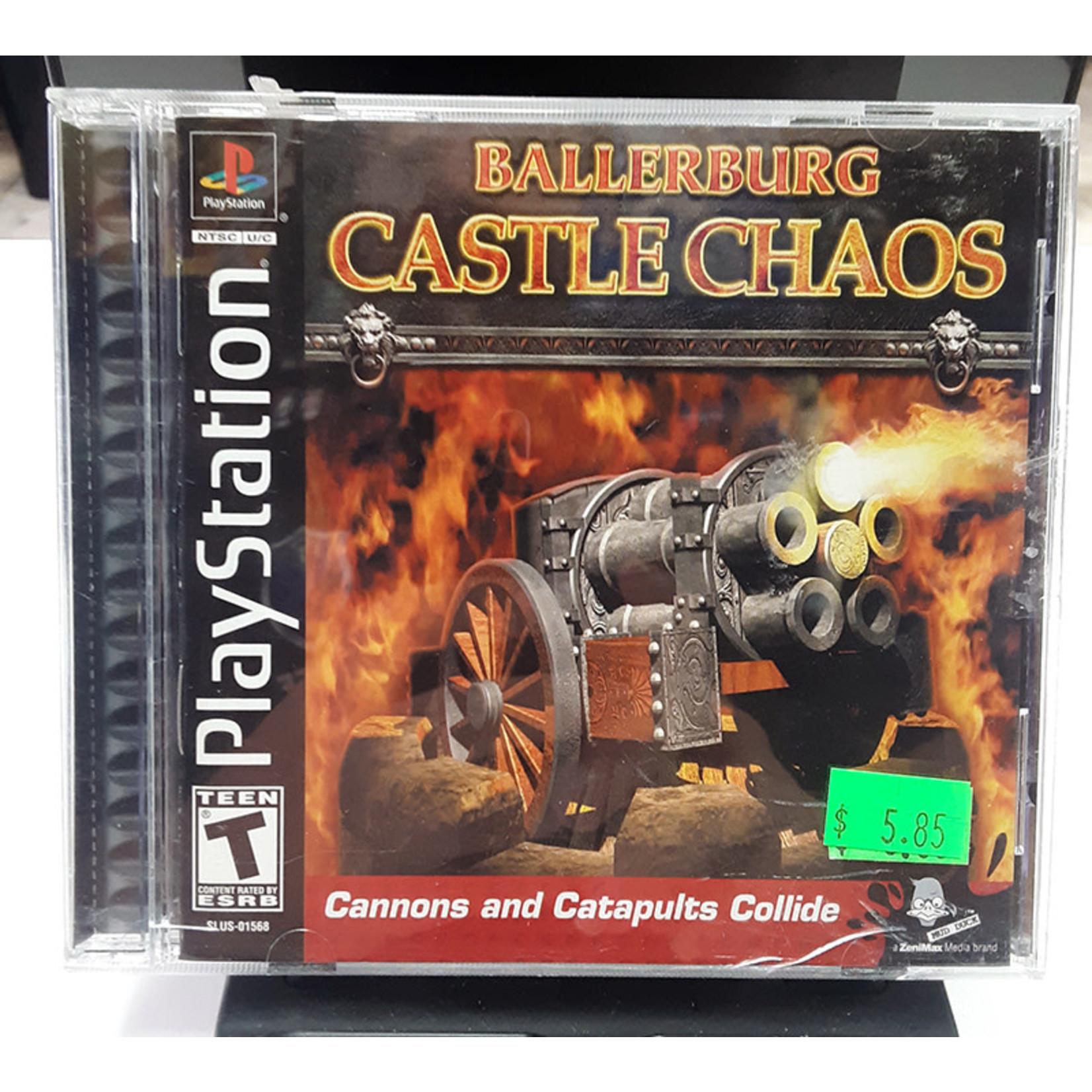 ps1u-Ballerburg: Castle Chaos