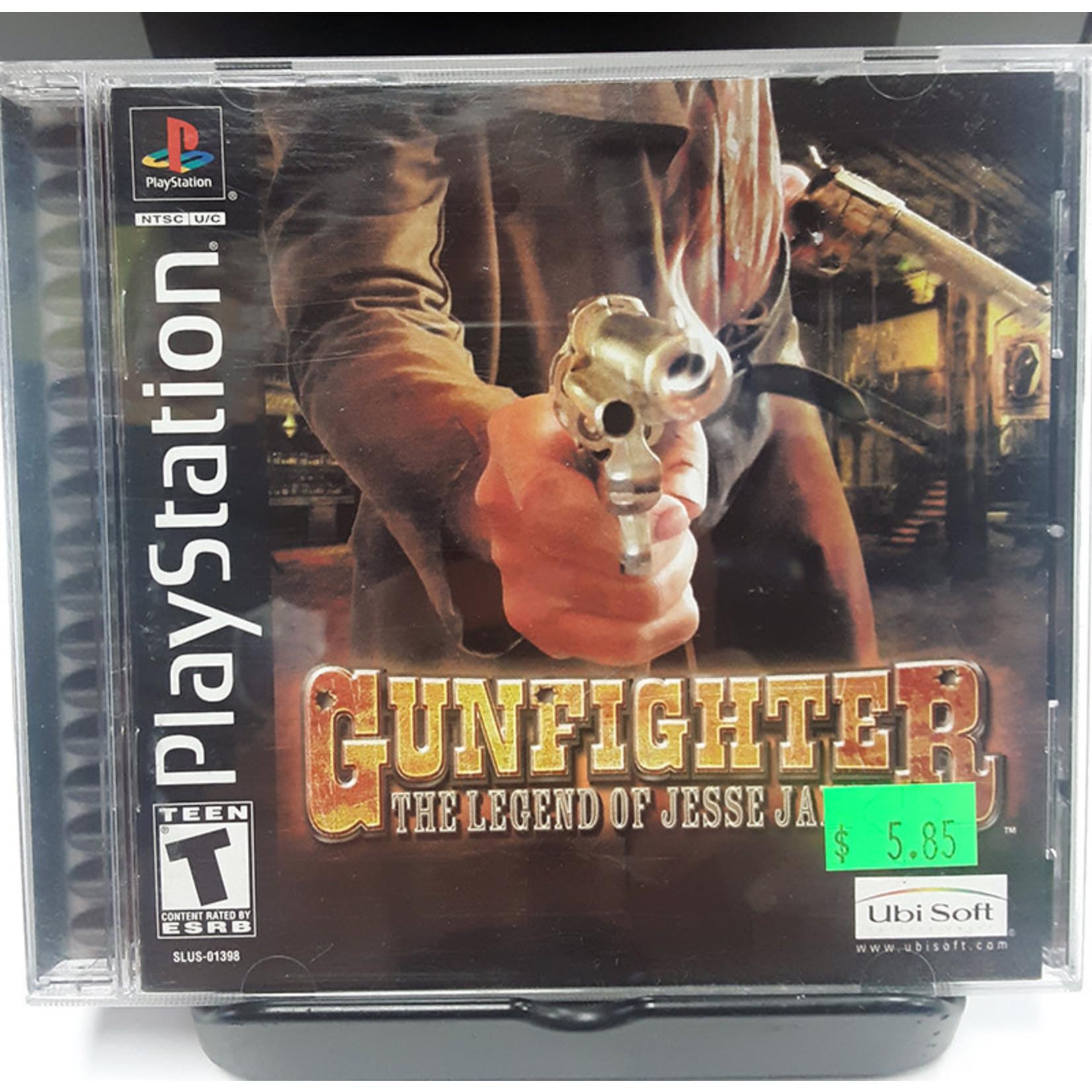 ps1u-Gunfighter The Legend of Jesse James