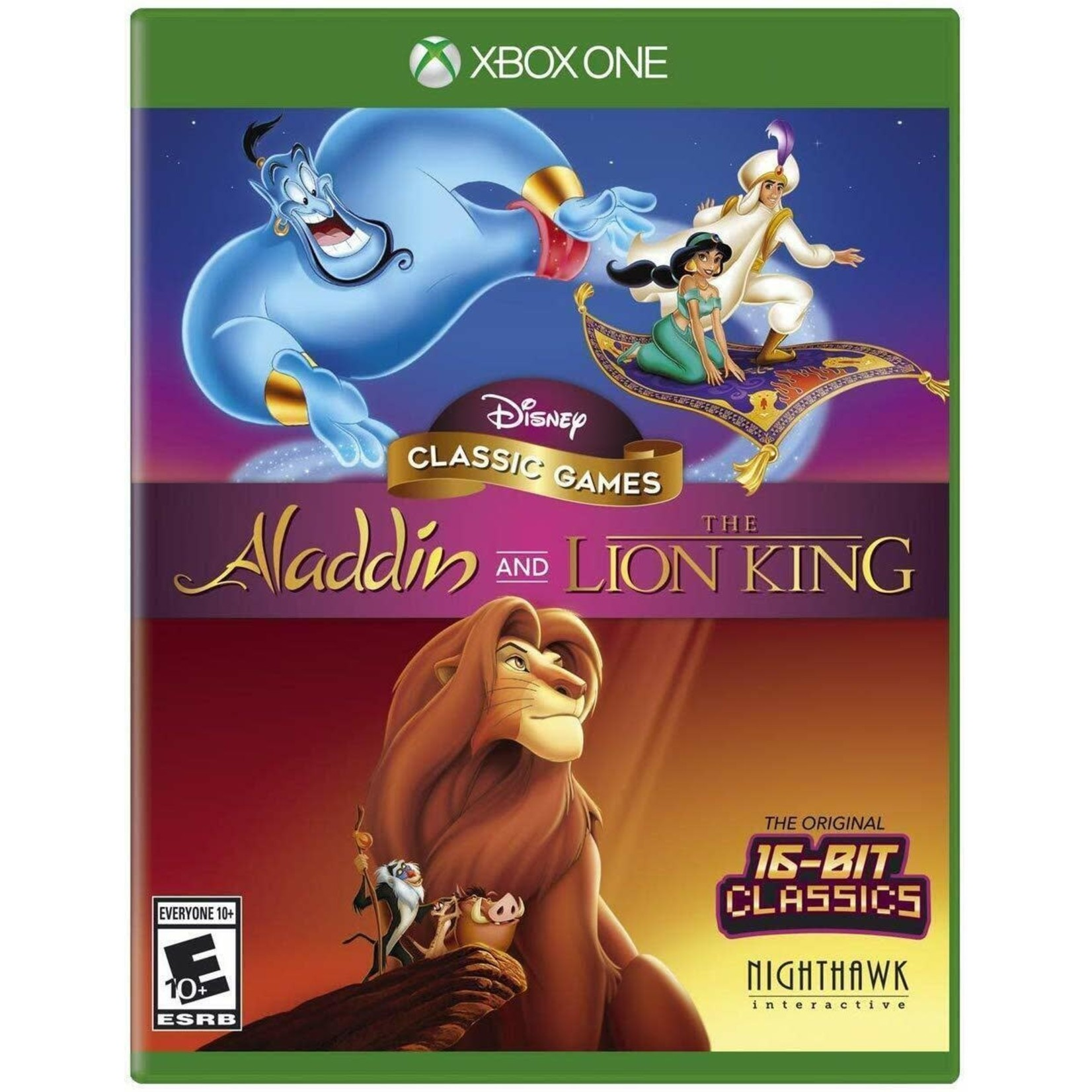 XB1U-Disney Classic Games: Aladdin and The Lion King