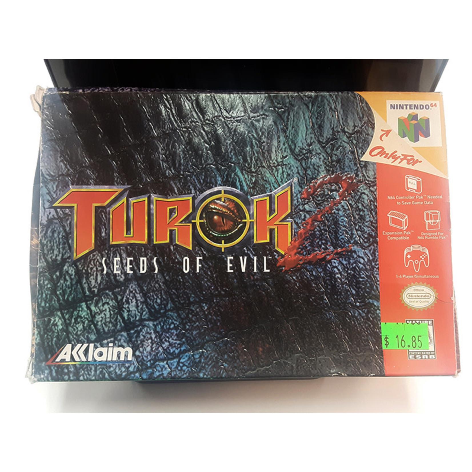 N64U-Turok 2 seeds of evil boxed