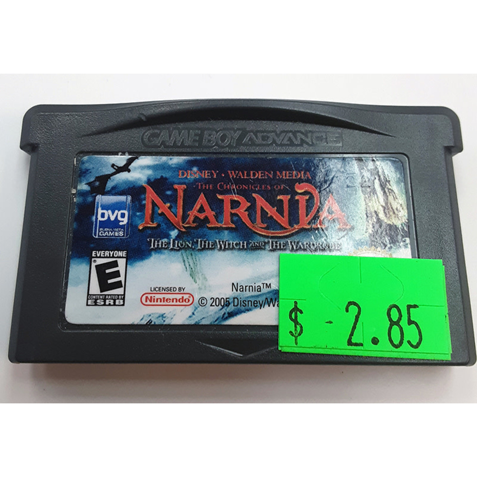 GBAu-The Chronicles of Narnia The Lion, The Witch, and The Wardrobe (cartridge)