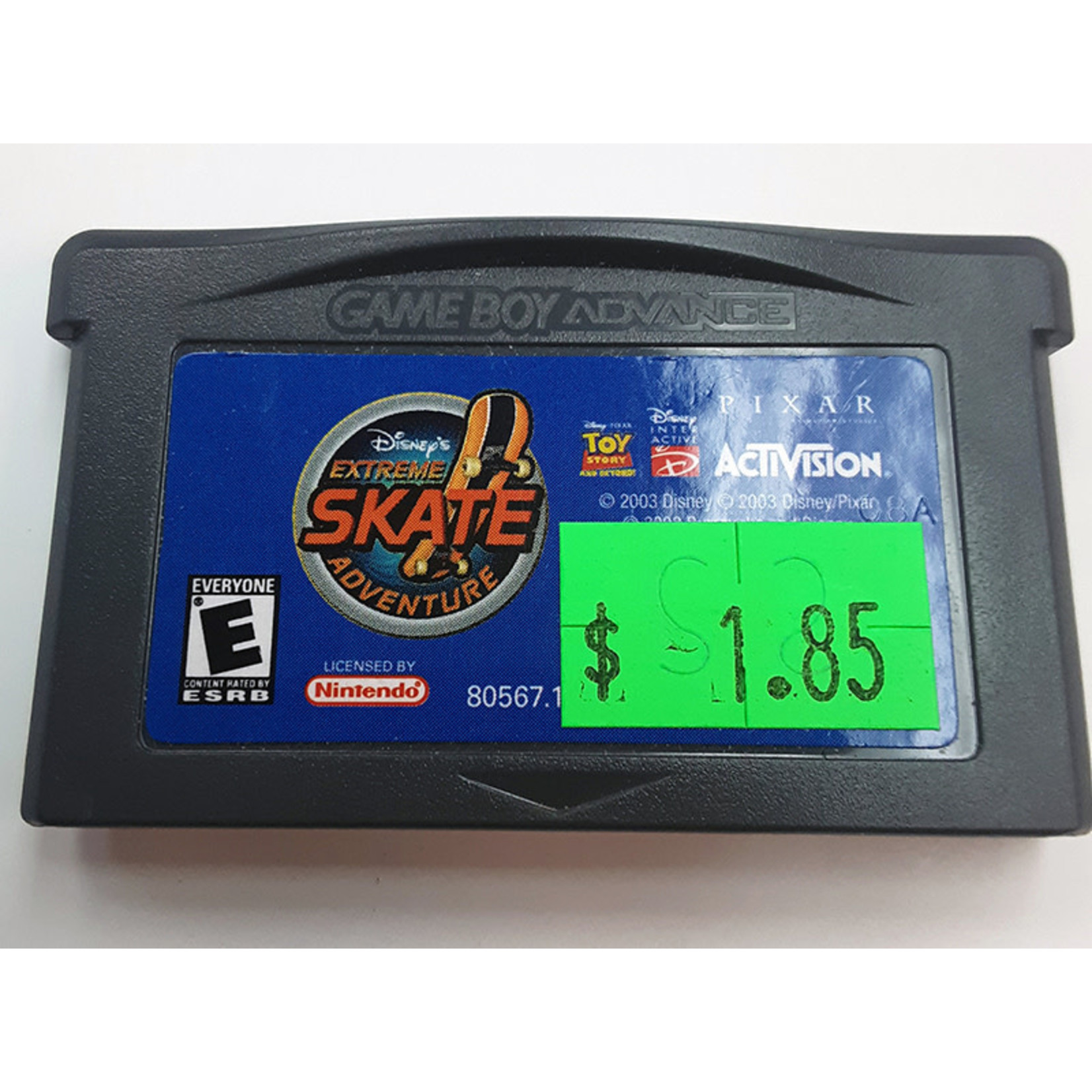 GBAu-Extreme Skate Adventure (cartridge)
