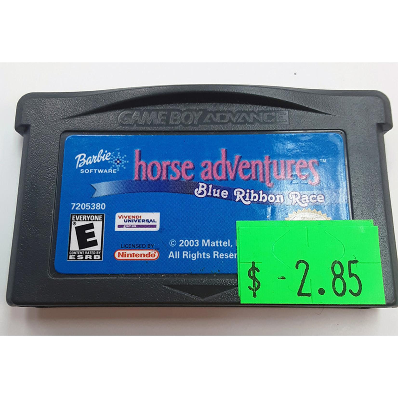 GBAu-Barbie Horse Adventures Blue Ribbon Race (cartridge)