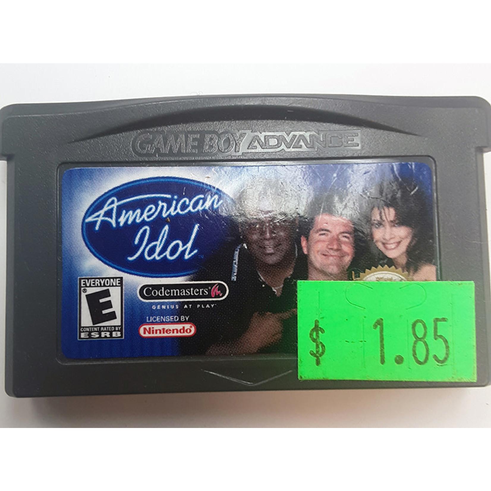 GBAu-American Idol (cartridge)