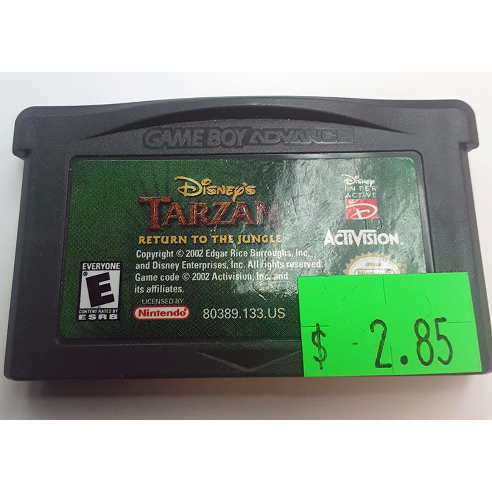 GBAu-Tarzan Return to the Jungle (cartridge)