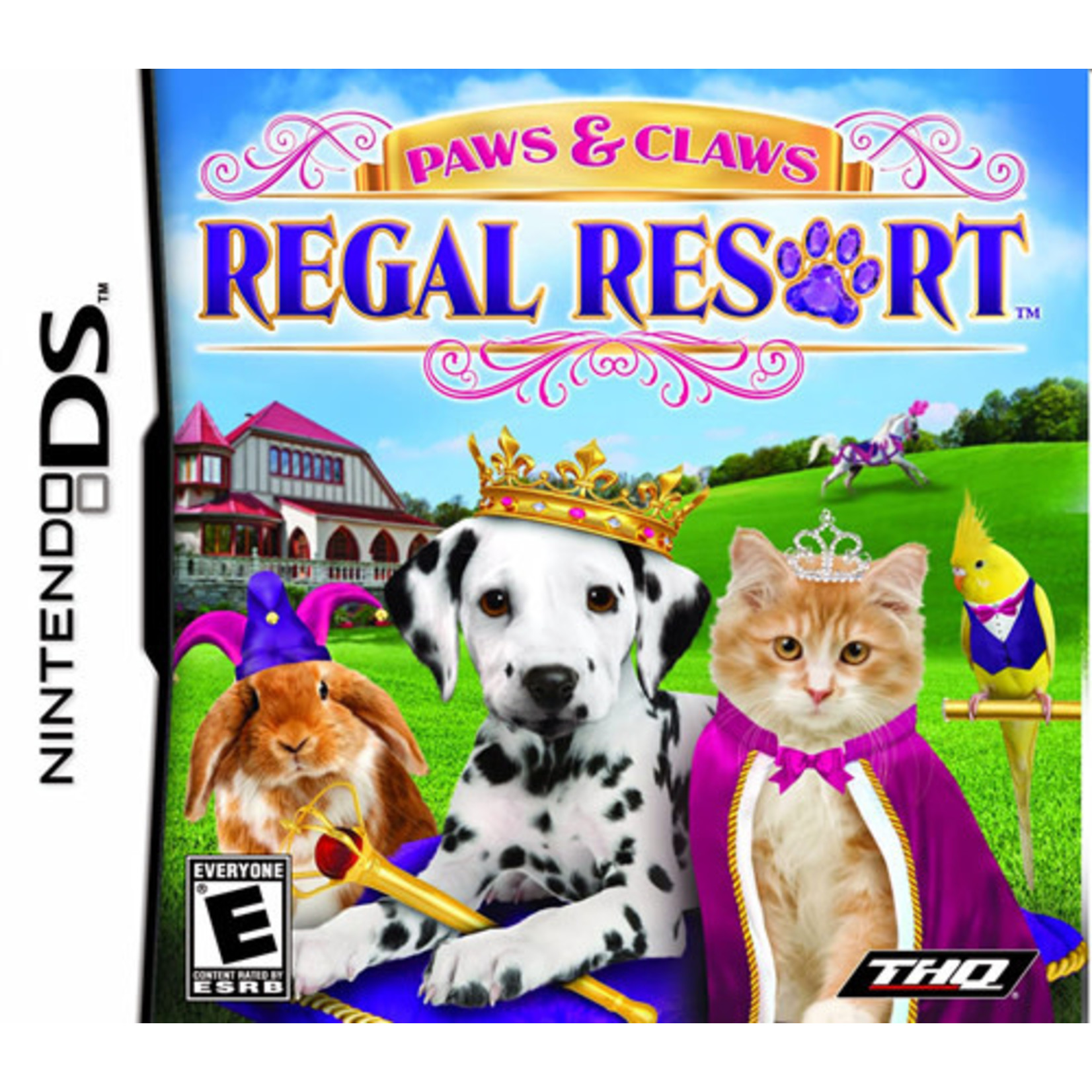 DS-PAWS&CLAWS REGAL RESORT