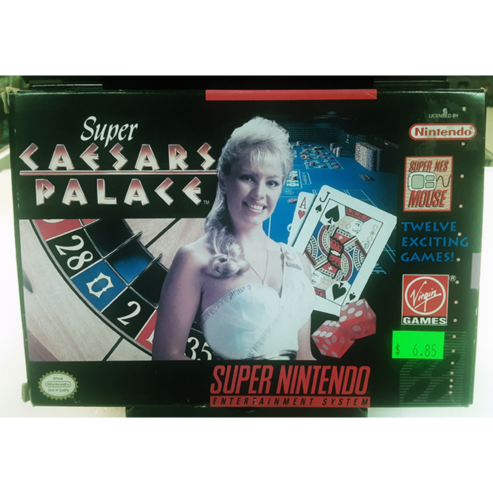 snesu-Super Caesar's Palace (in box)