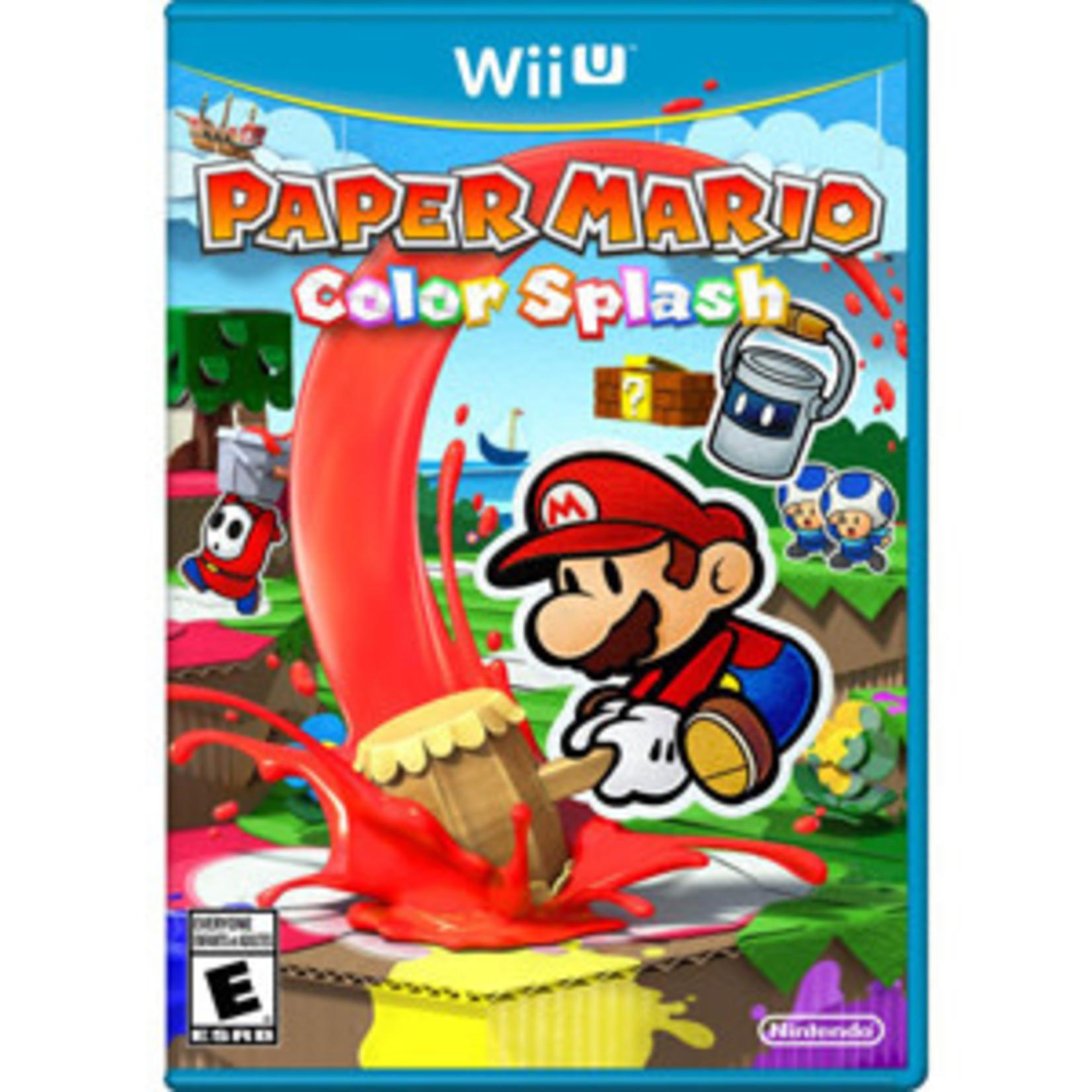 WIIU-Paper Mario Color Splash