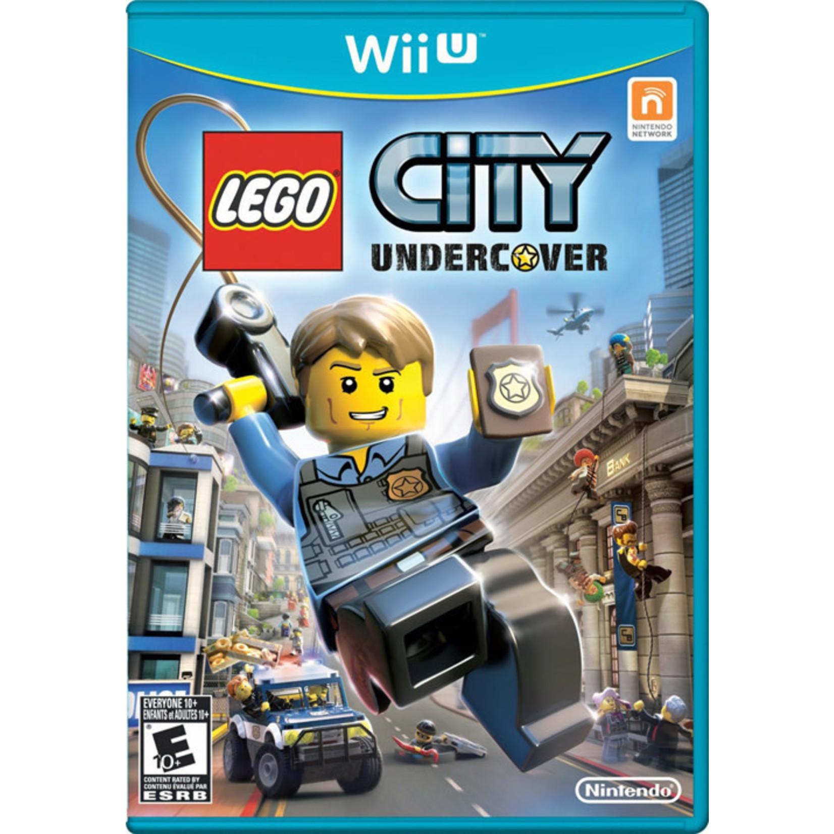 WIIU-LEGO City Undercover
