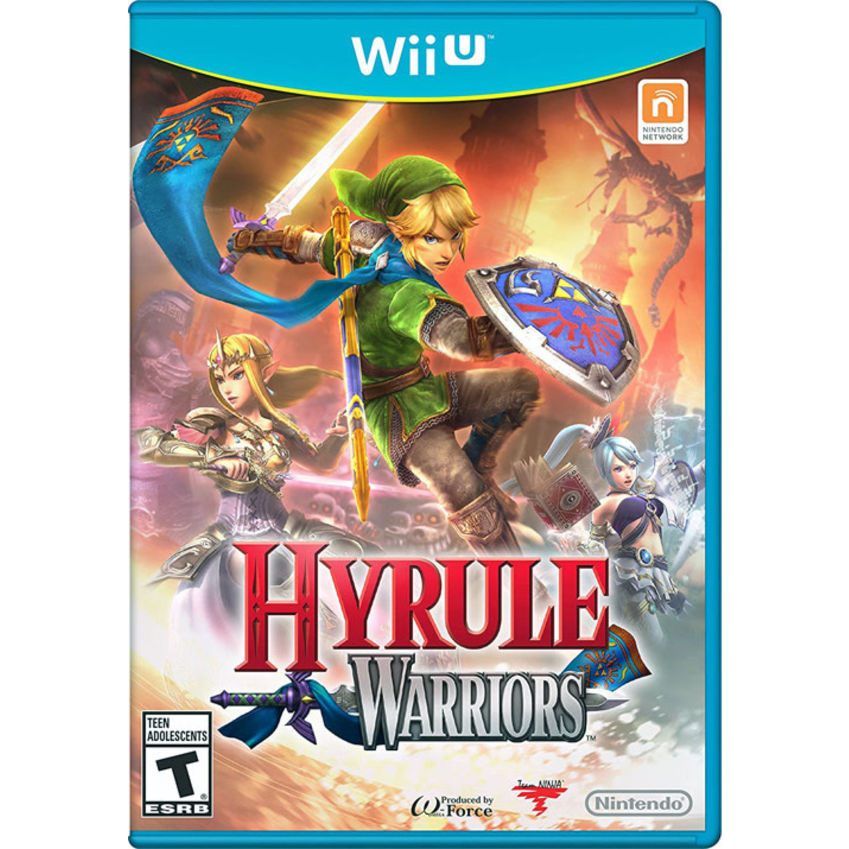 WIIU-Hyrule Warriors