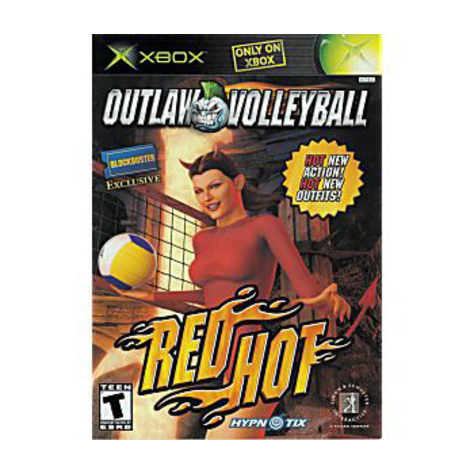 XBU-OUTLAW VOLLYBALL RED HOT