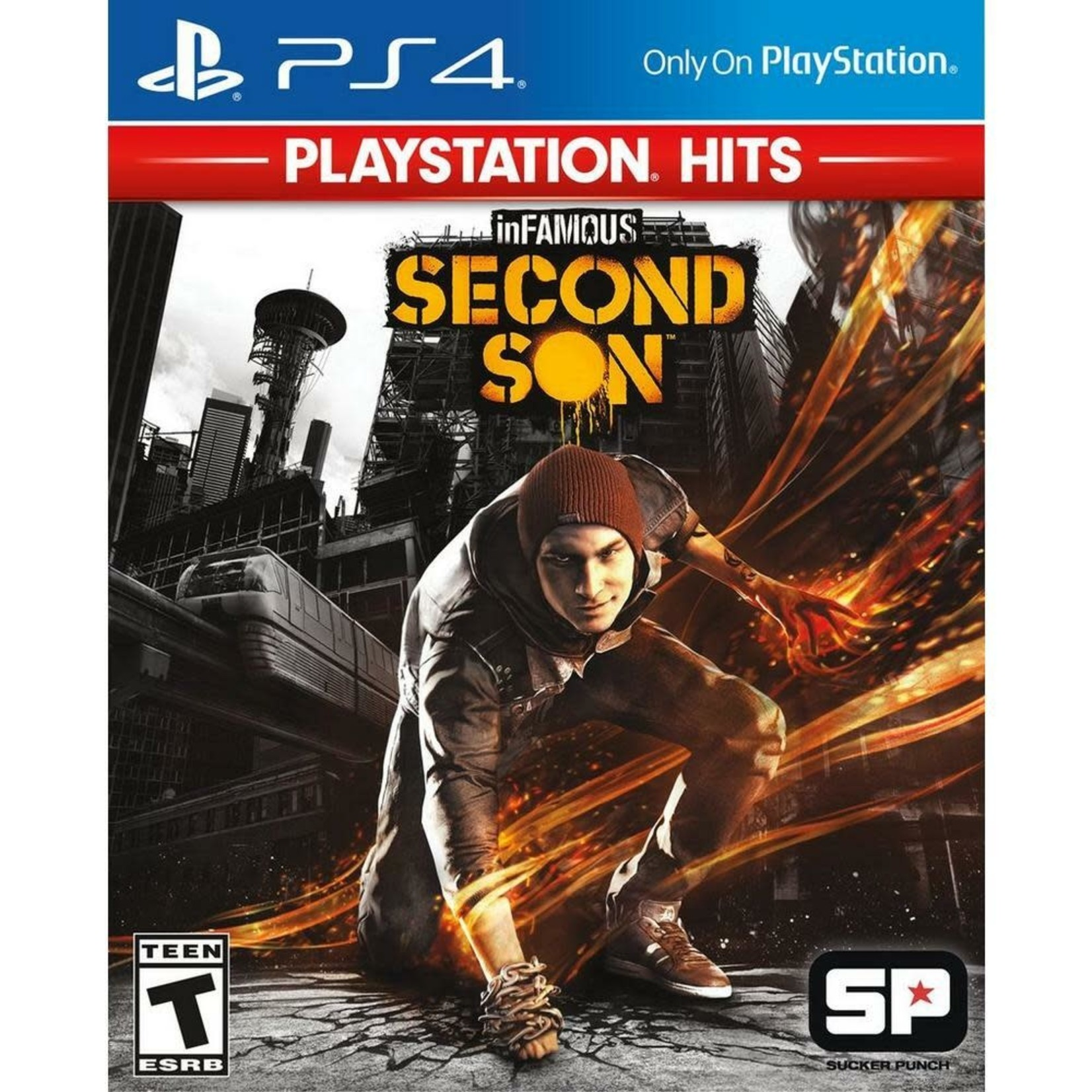 PS4-Infamous Second Son