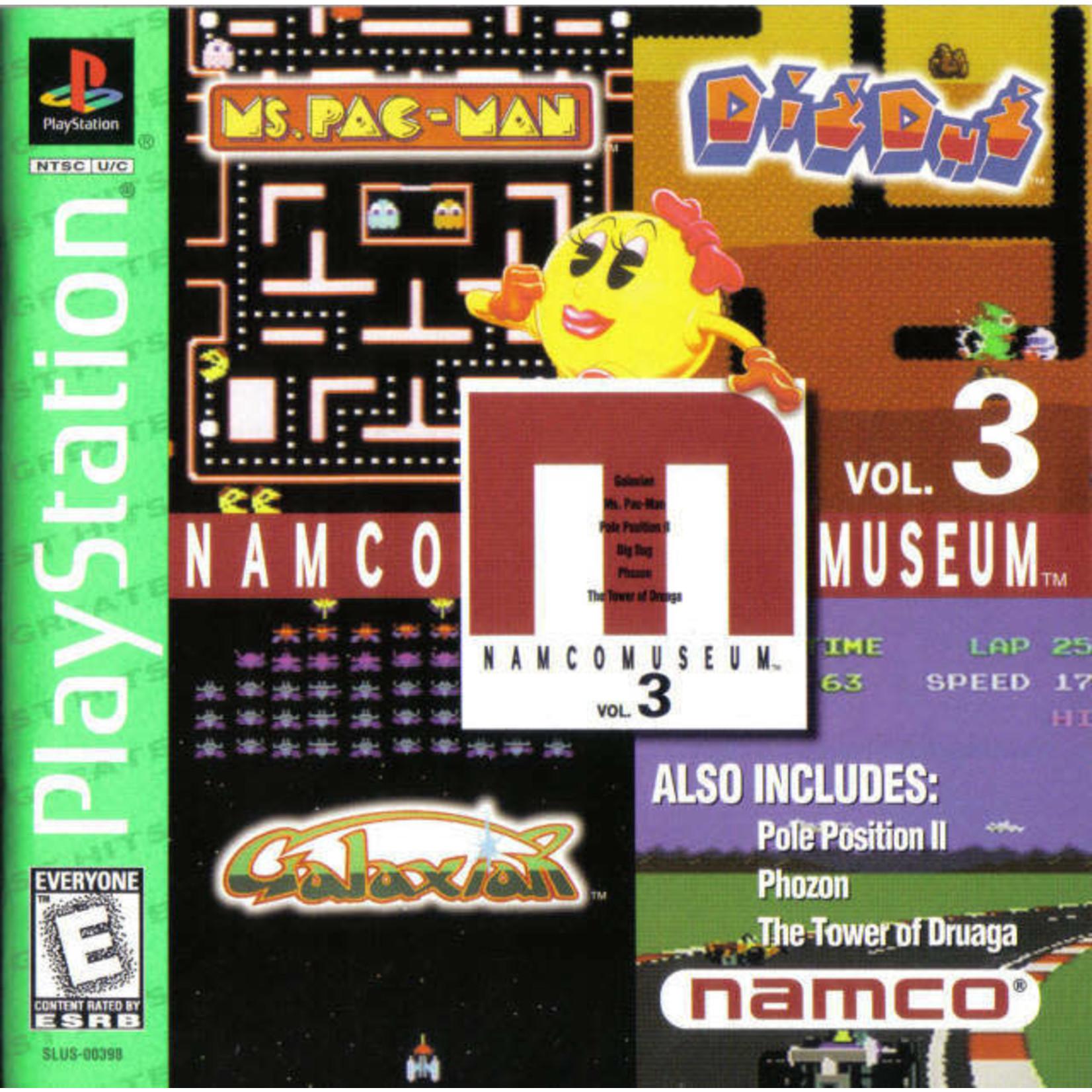 ps1u-Namco Museum Volume 3