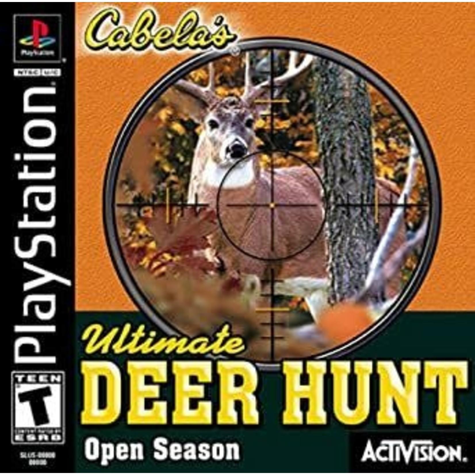 PS1U-Cabela's Ultimate Deer Hunt