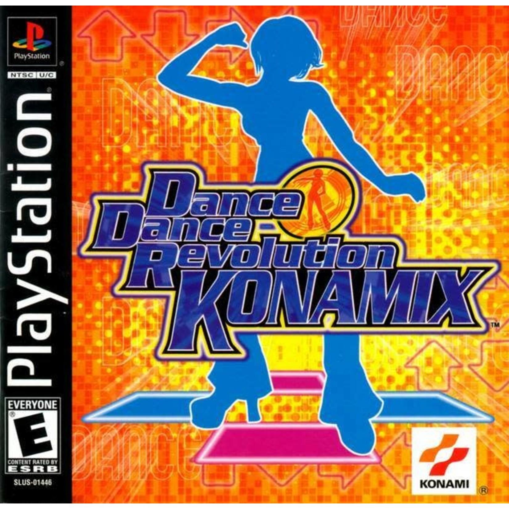 PS1U-Dance Dance Revolution Konamix