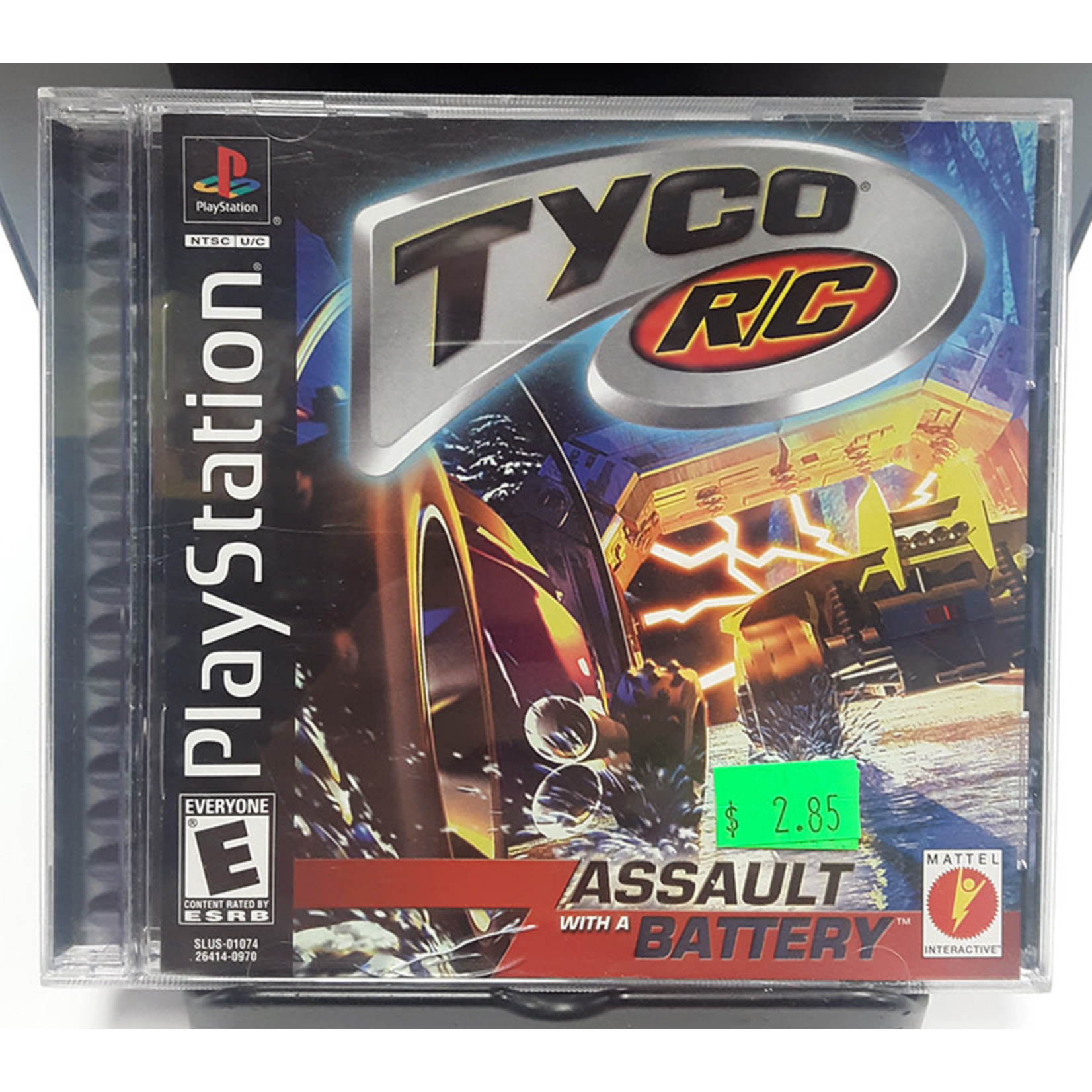 ps1u-Tyco R/C Assault With A Battery
