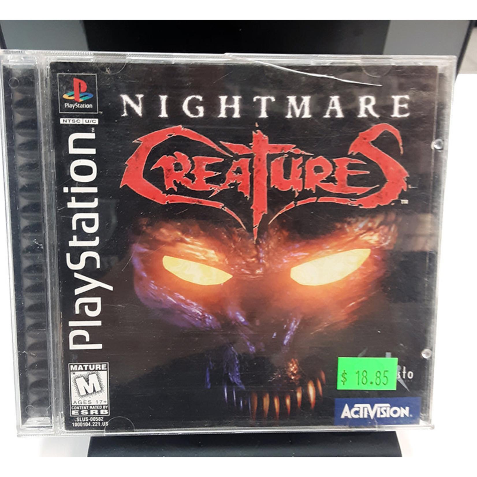 PS1U-Nightmare Creatures