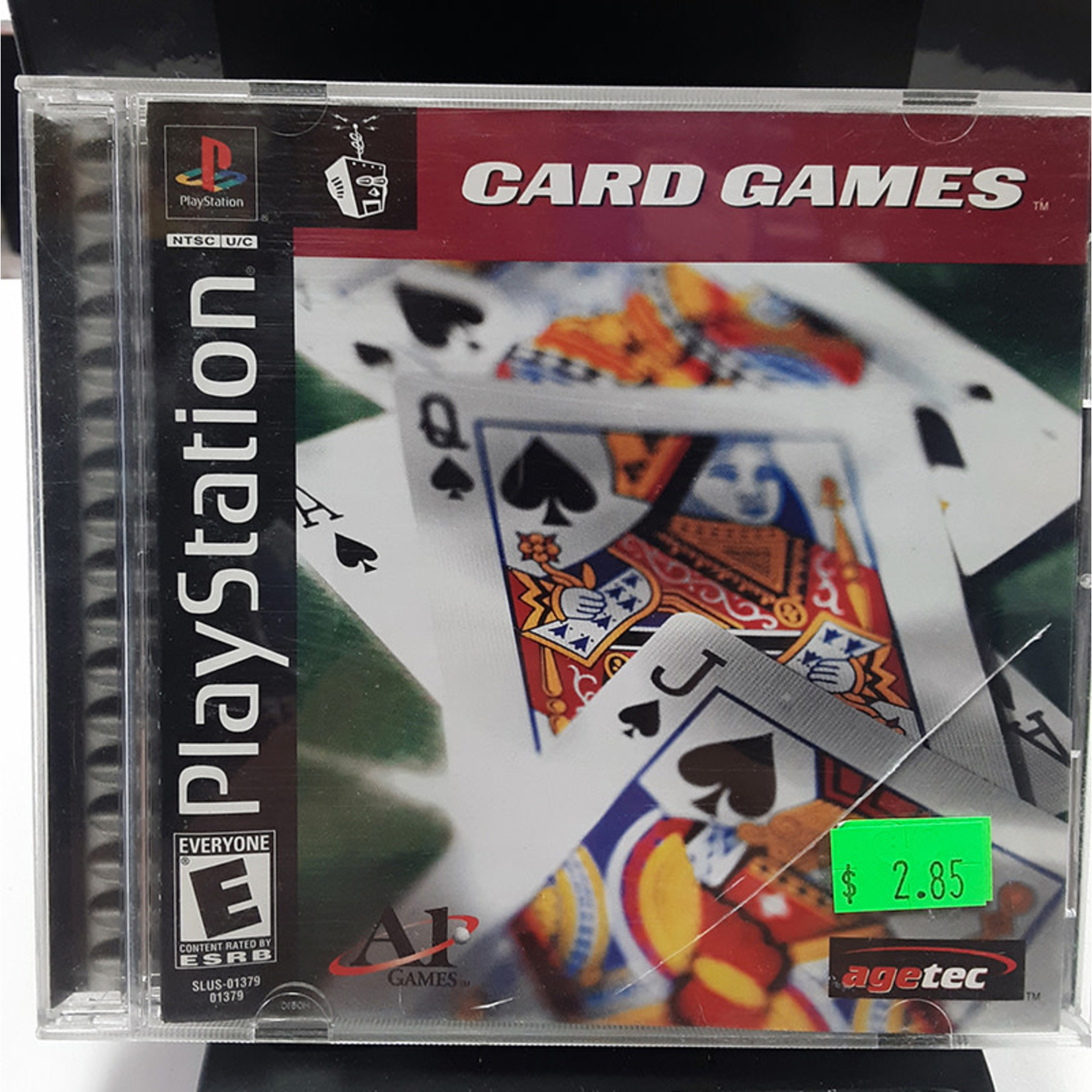 ps1u-Card Games