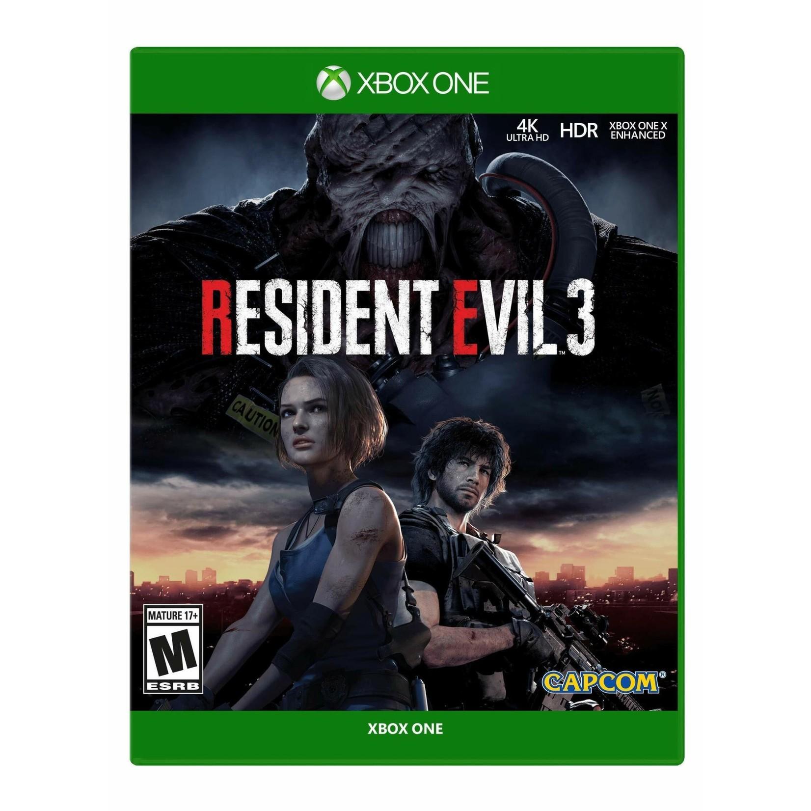 xb1u-Resident Evil 3 Remake