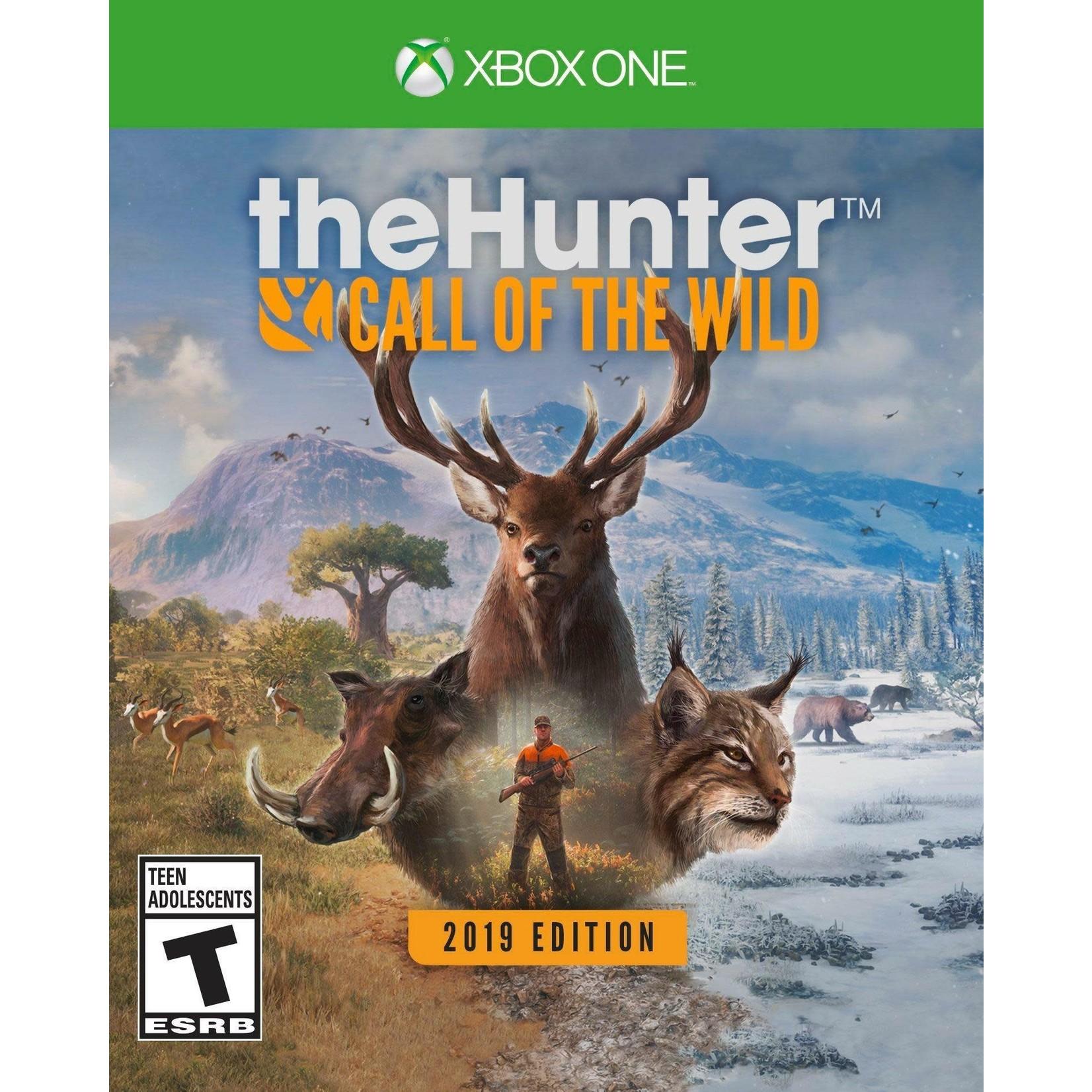 XB1U-The Hunter: Call of the Wild
