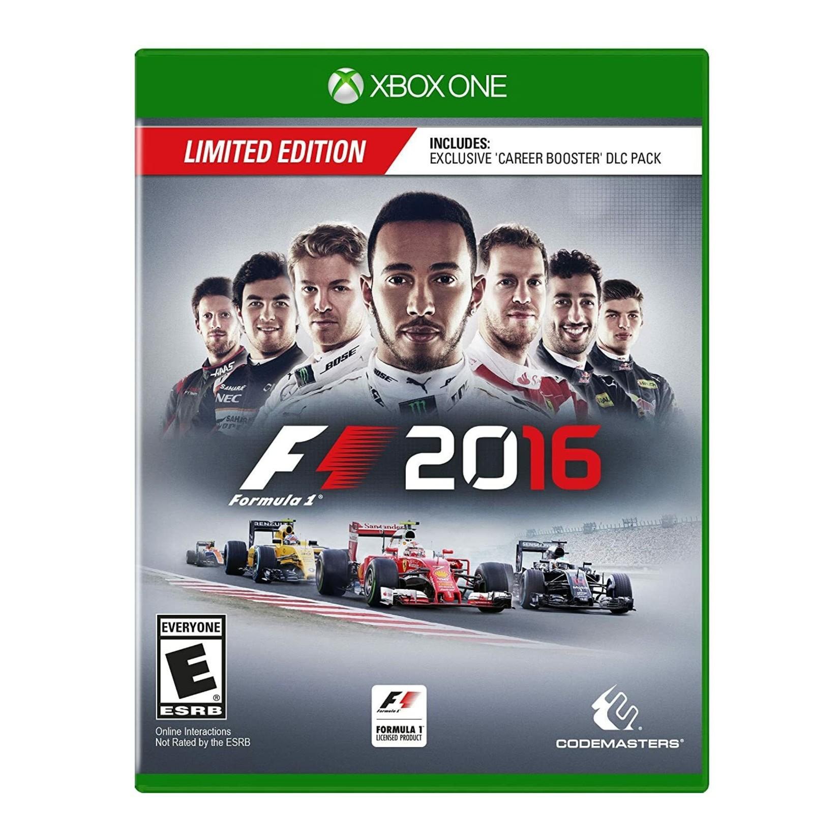 XB1-Formula 1 2016