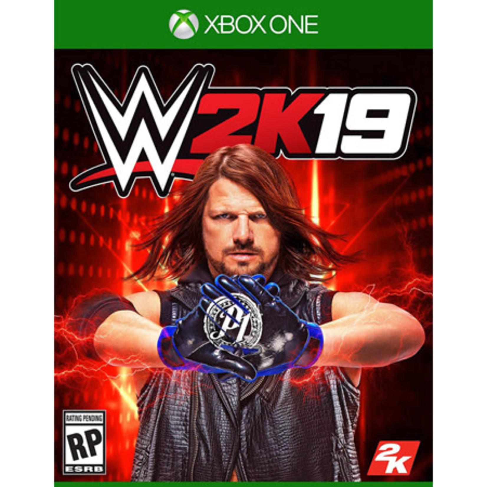 XB1U-WWE 2K19