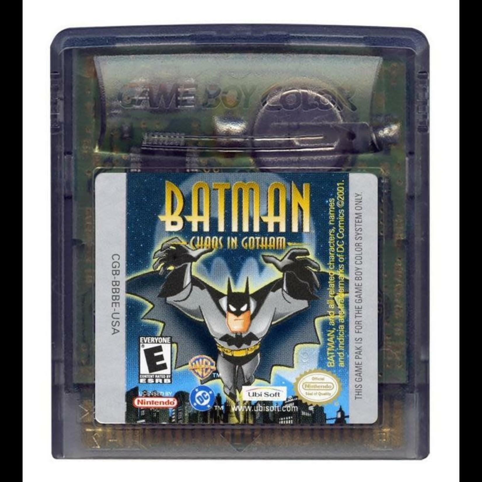 GBCU-Batman Total Chaos In Gotham City (CARTRIDGE)