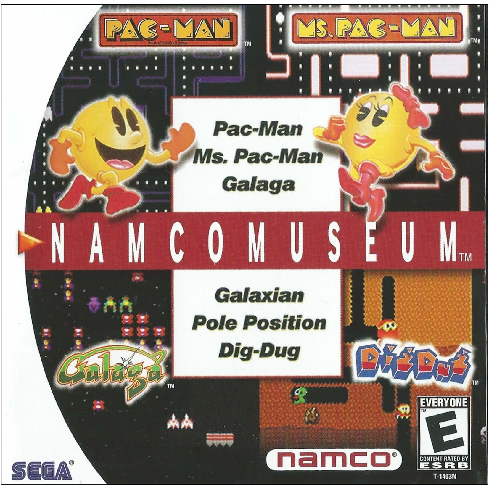 SDCU-Namco Museum