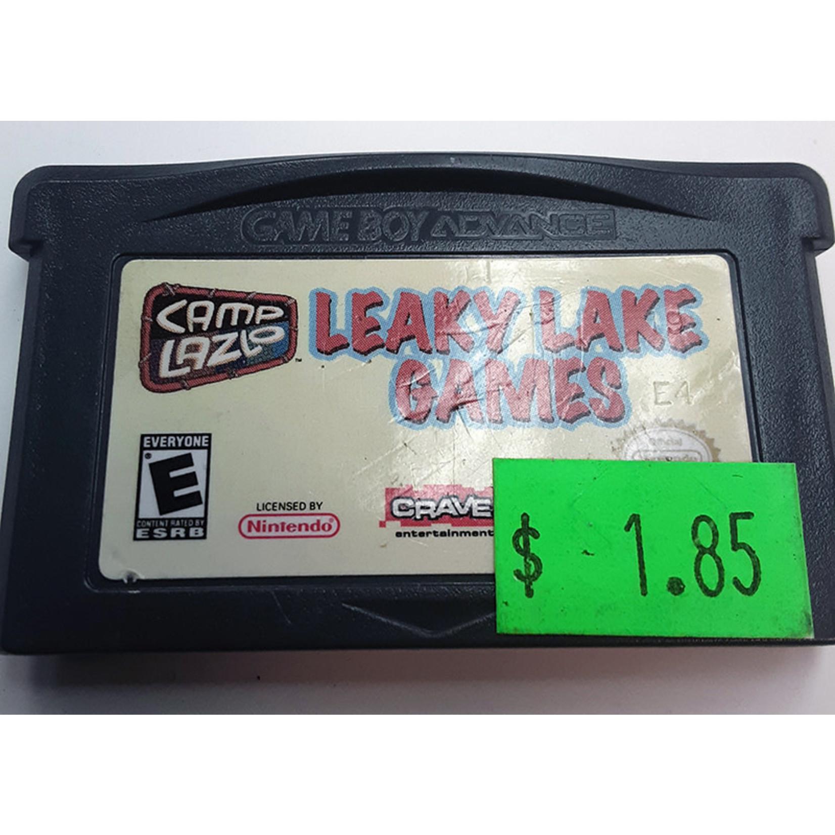 GBAu-Camp Lazlo Leaky Lake Games (cartridge)