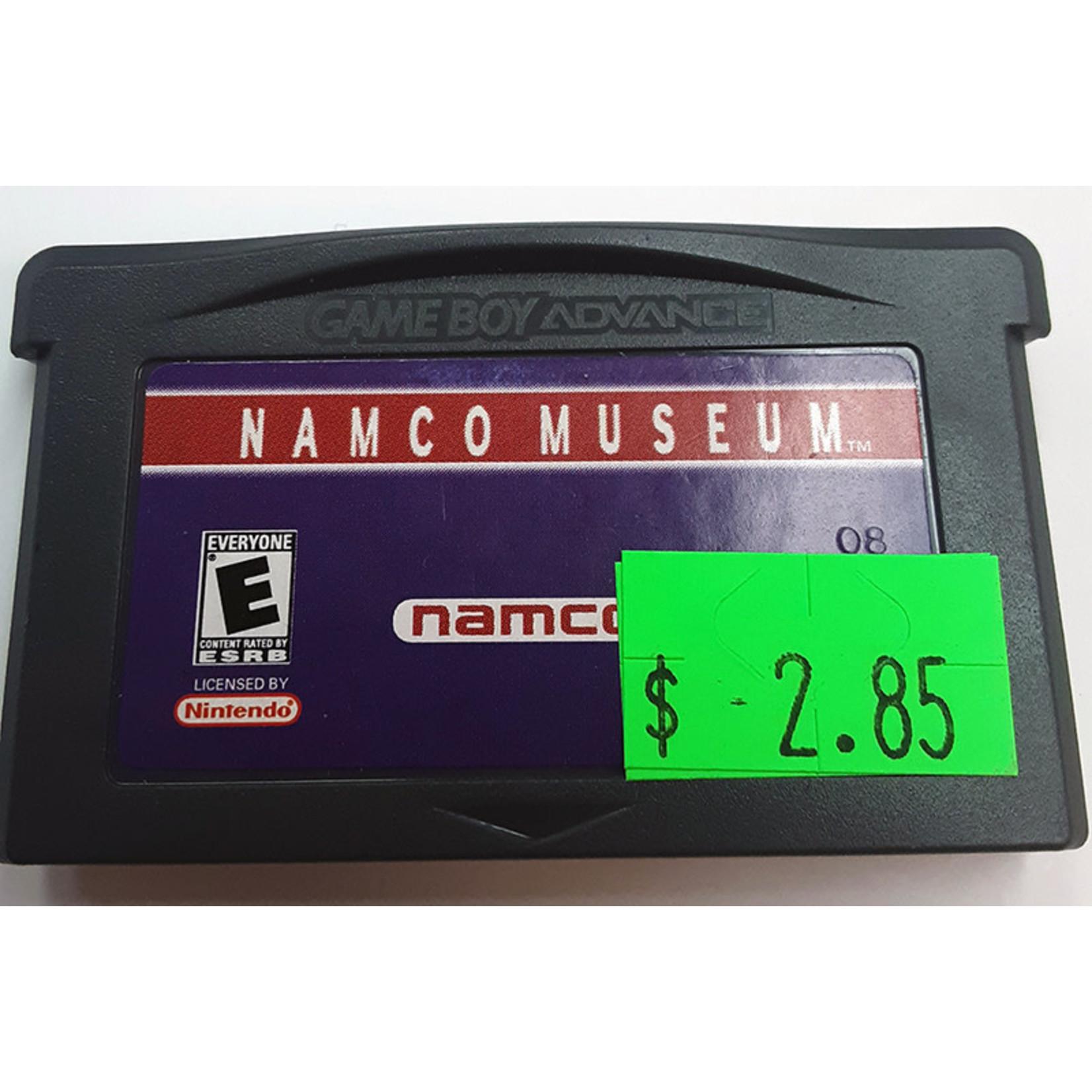 GBAu-Namco Museum (cartridge)