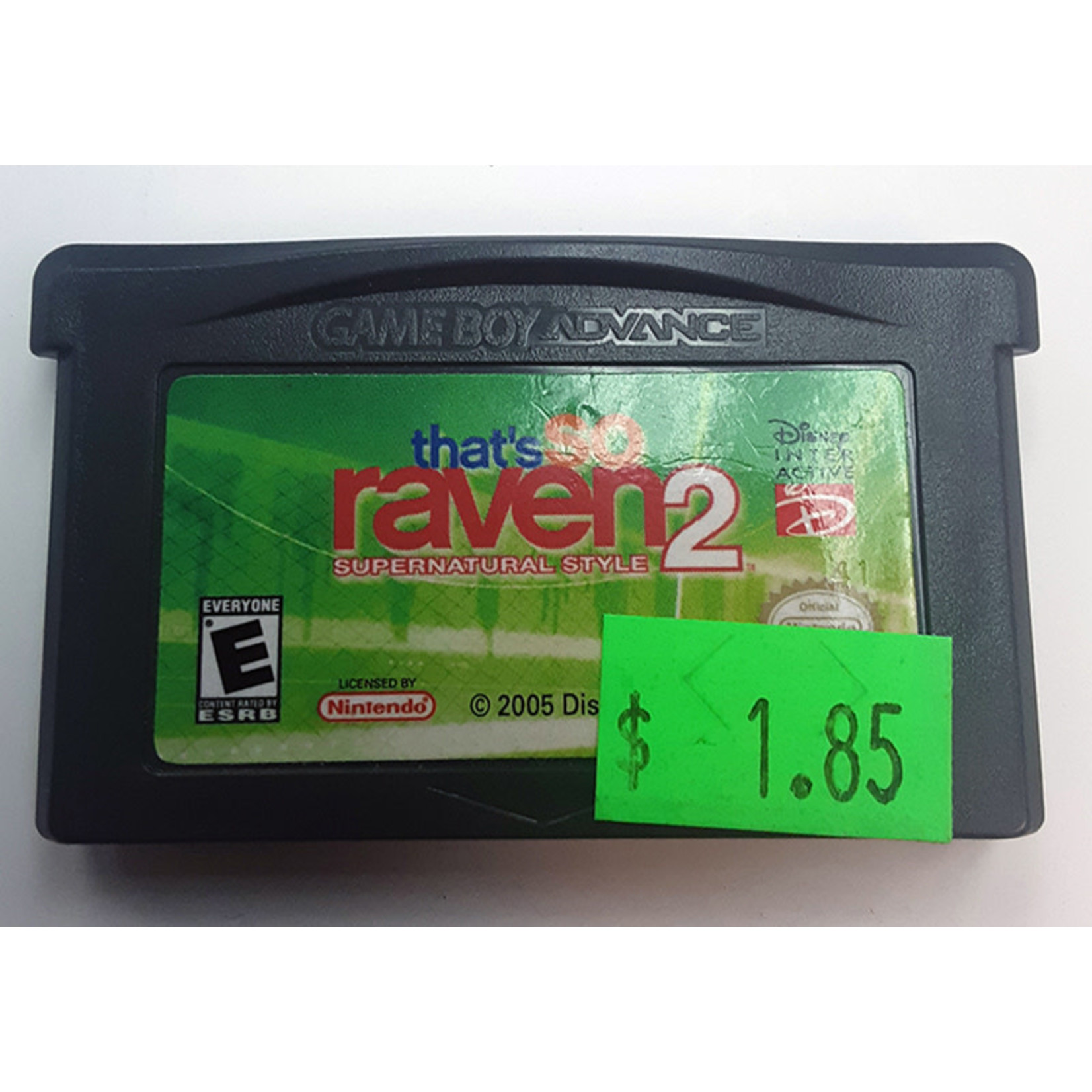 GBAu-That's So Raven 2 Supernatural Style (cartridge)