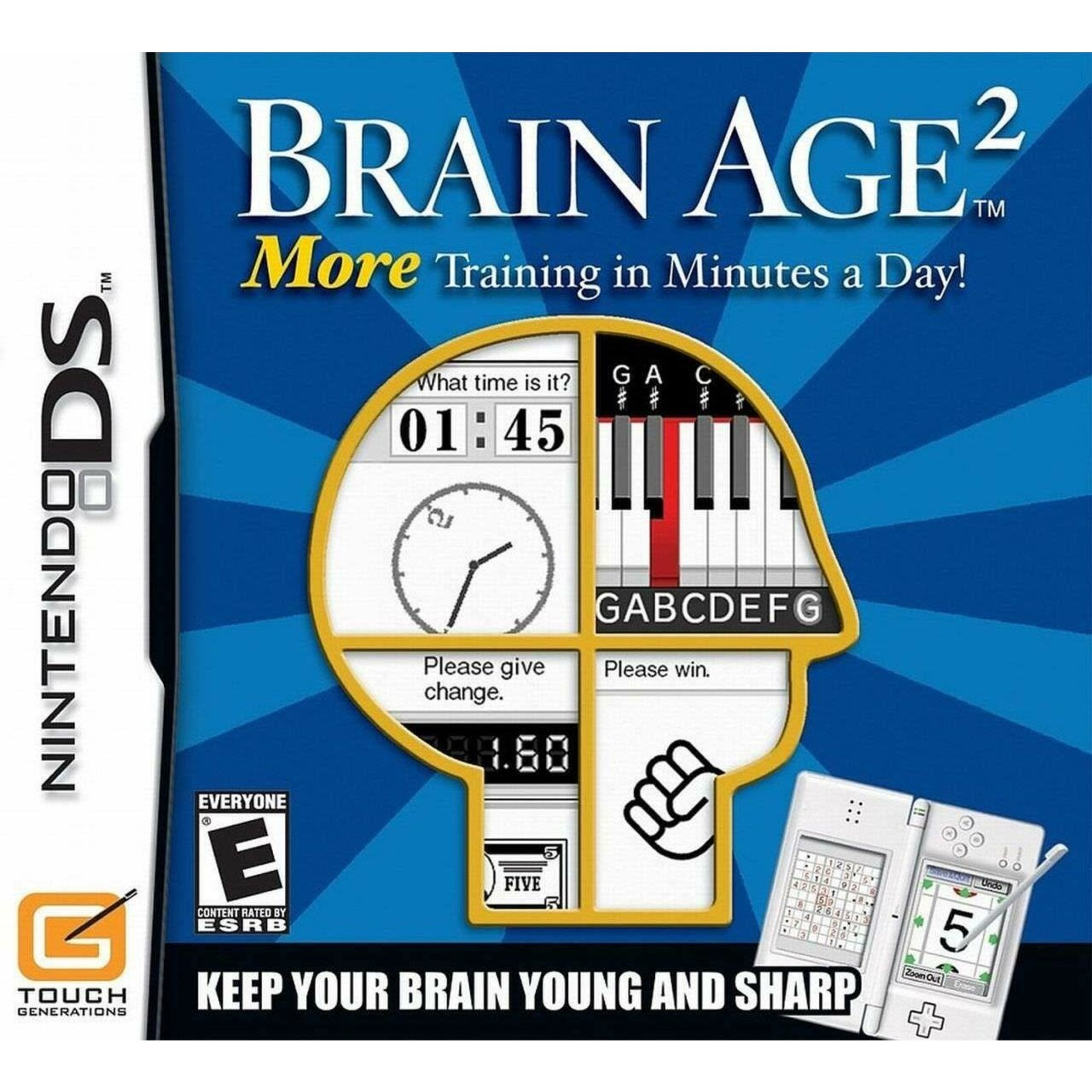 DSU-Brain Age 2: More Training In Minutes A Day