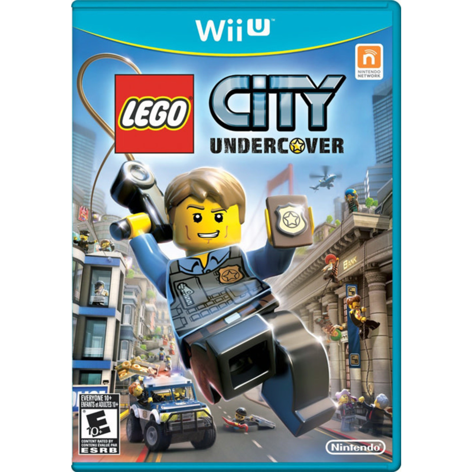 WIIUUSD-LEGO City: Undercover