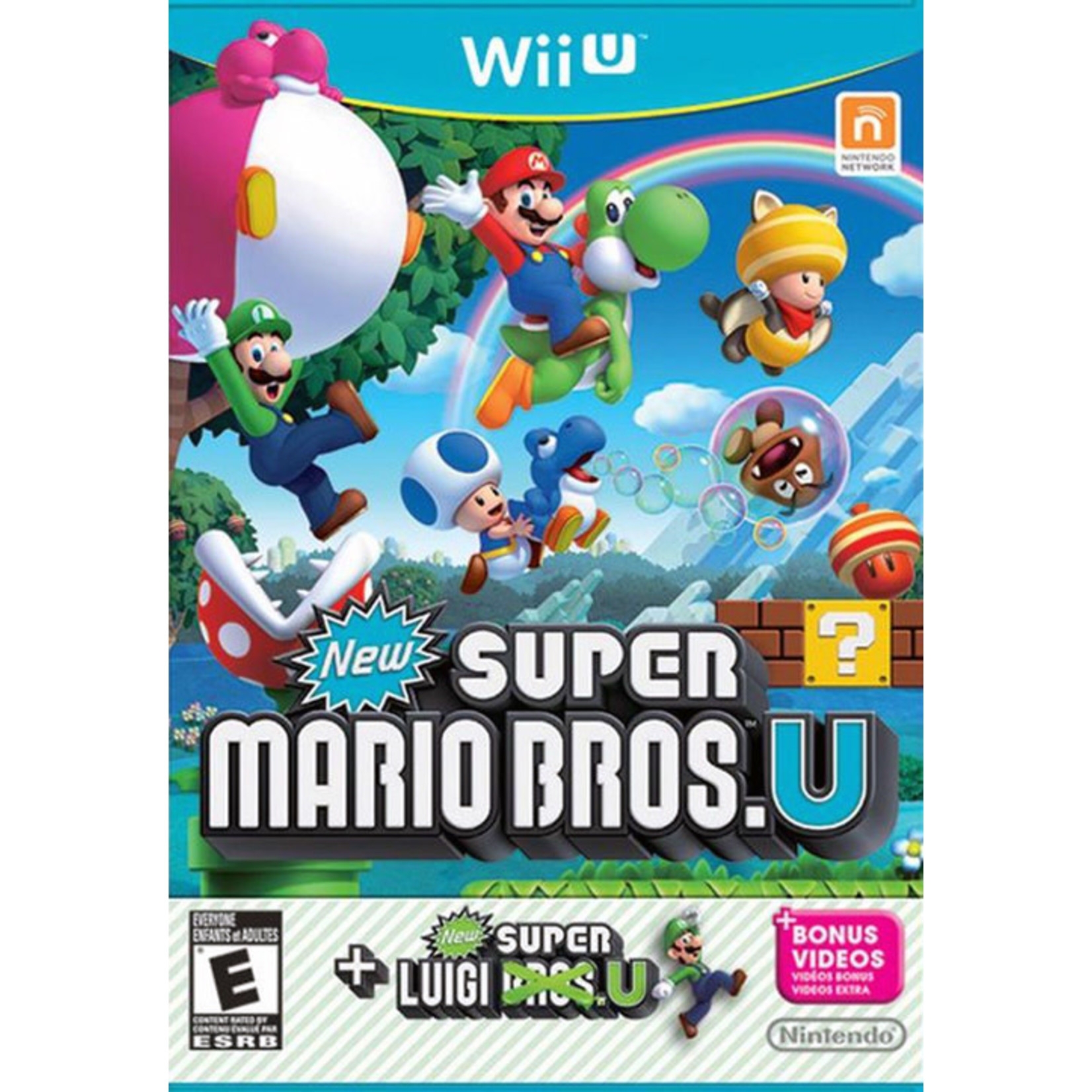 WIIUUSD-New Super Mario Bros. U