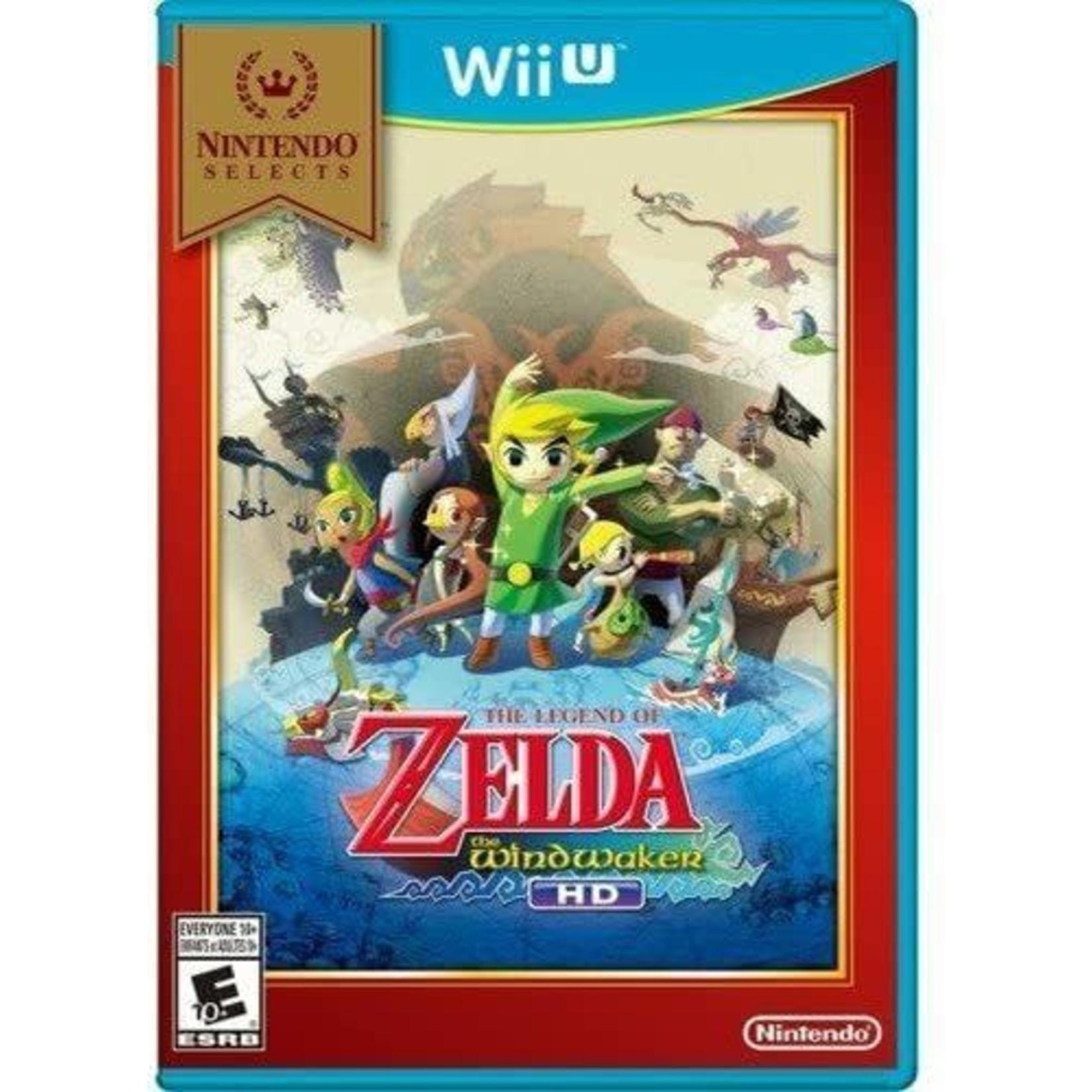 WIIU-The Legend of Zelda: The Windwaker HD