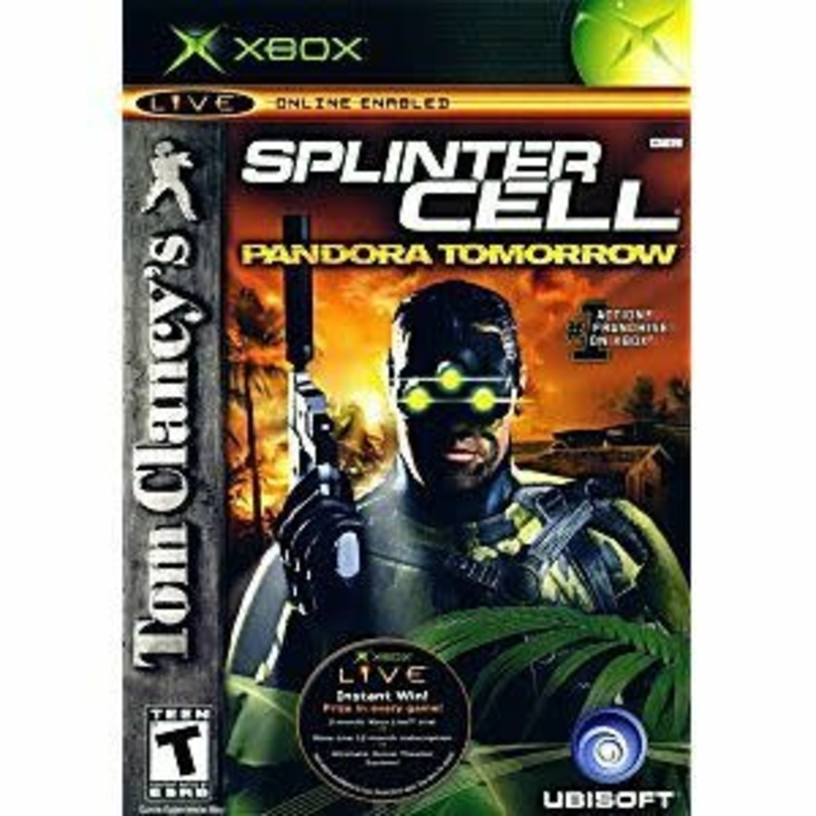 XBU-Splinter Cell Pandora Tomorrow