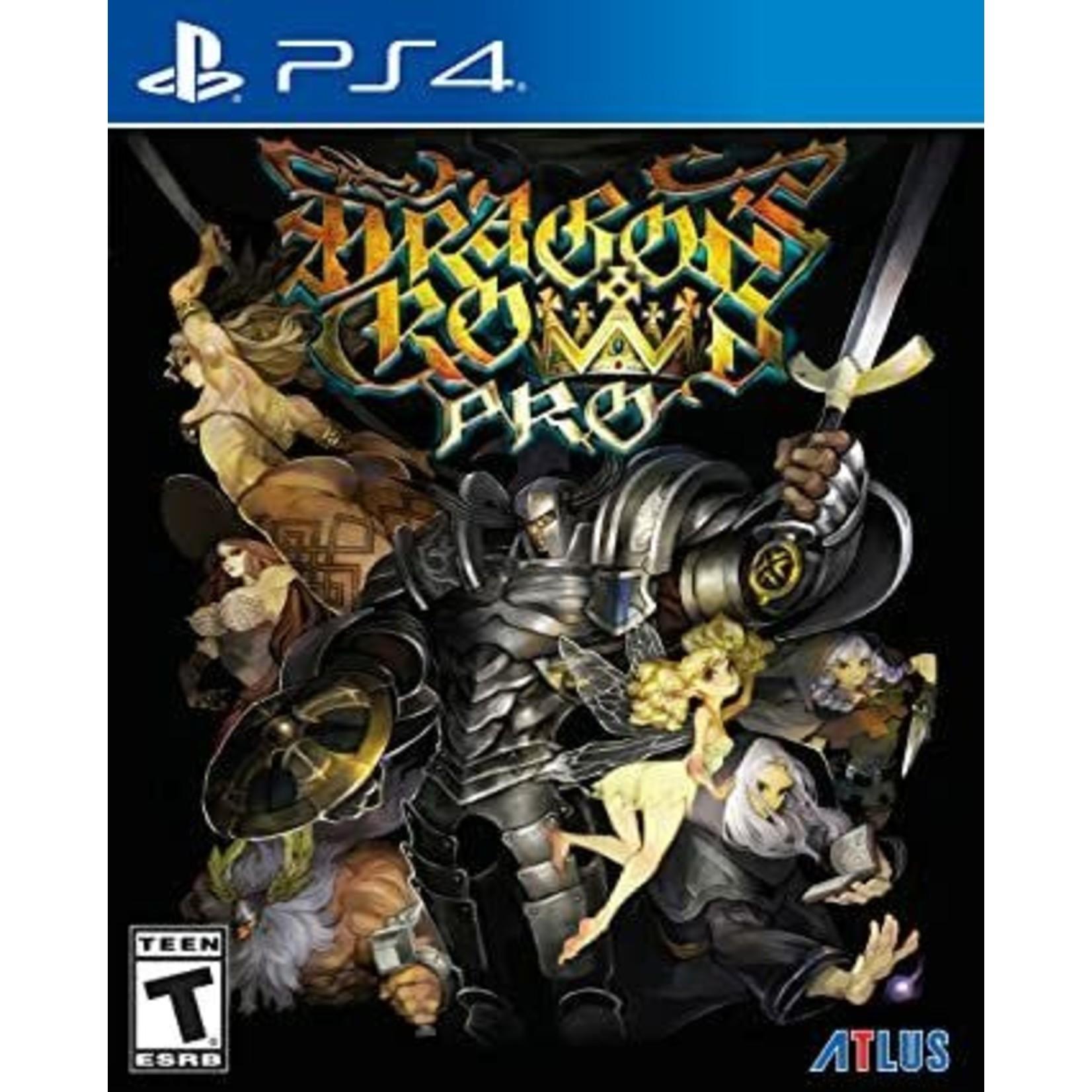 PS4-Dragon's Crown Pro