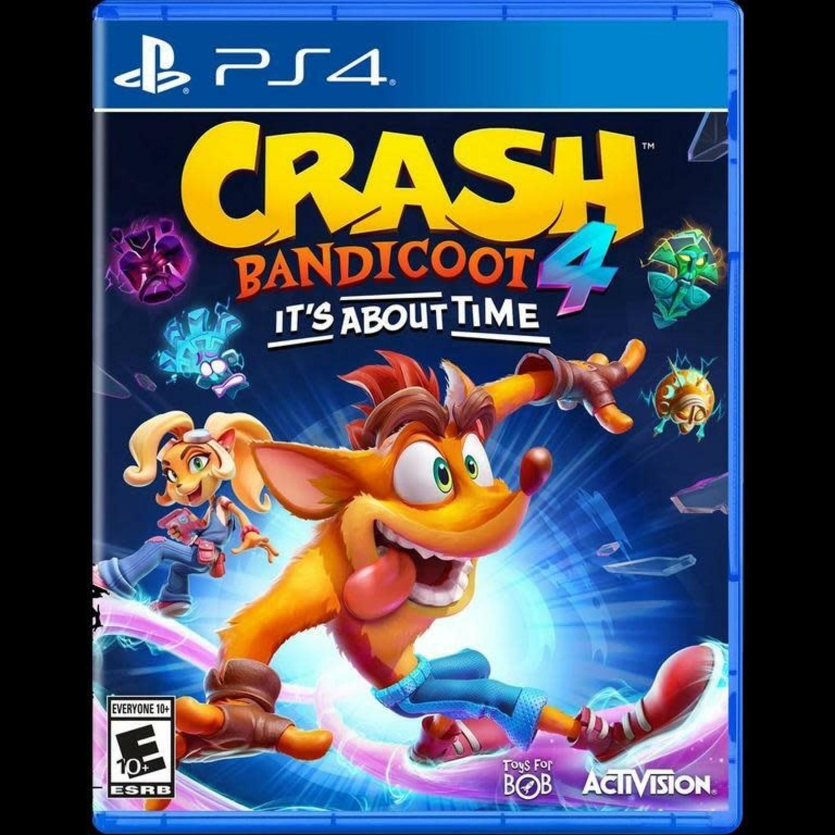 PS4-Crash Bandicoot 4: It's About Time
