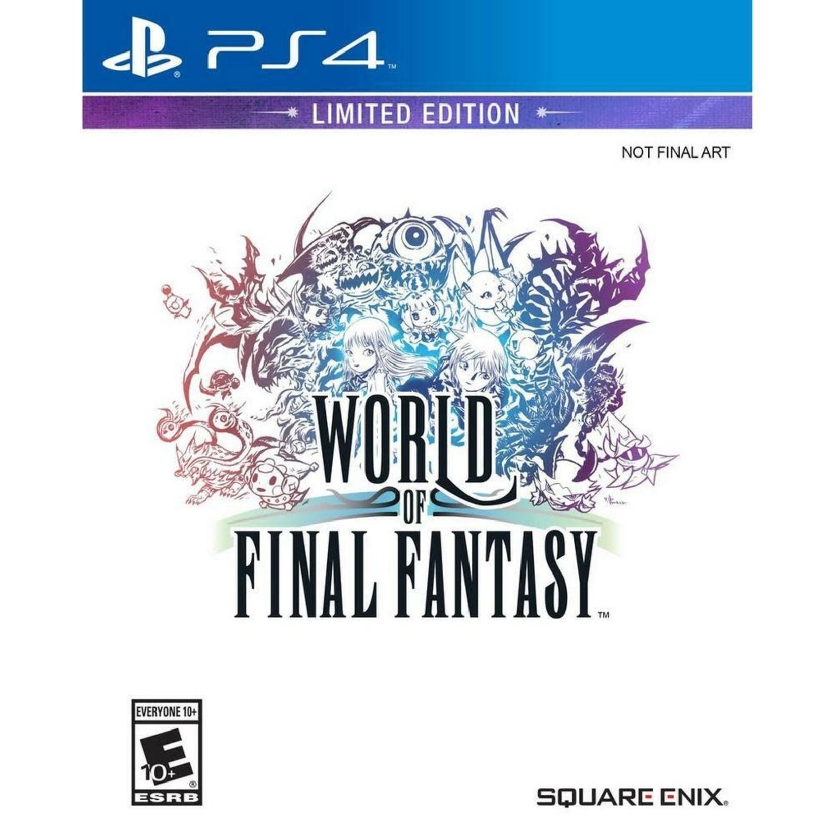 PS4-World of Final Fantasy