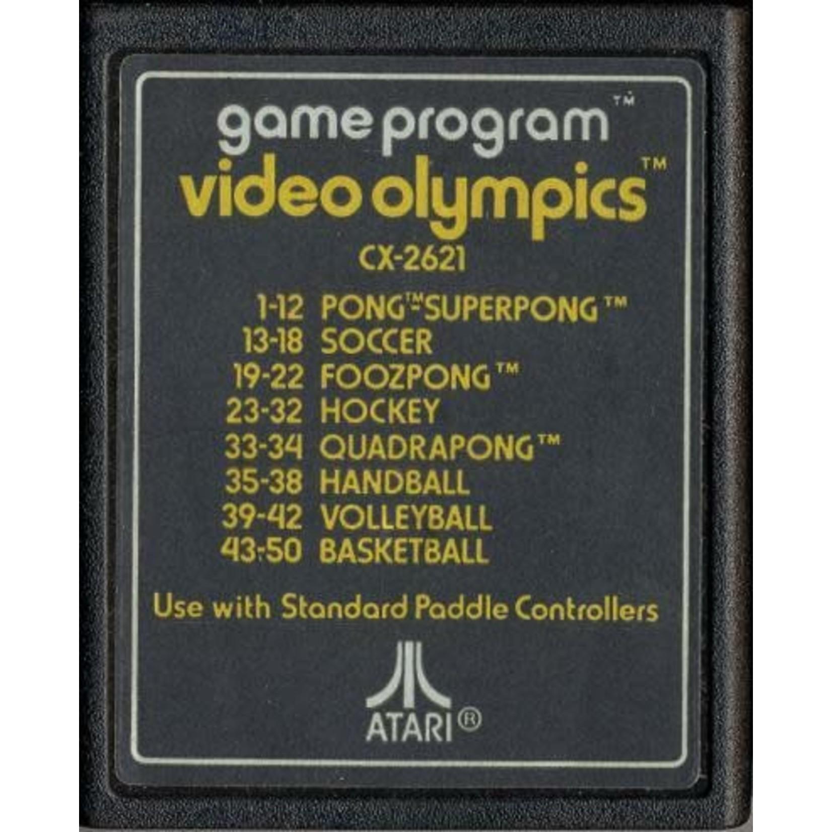 ATARIU-Video Olympics [Text Label] (CART ONLY)
