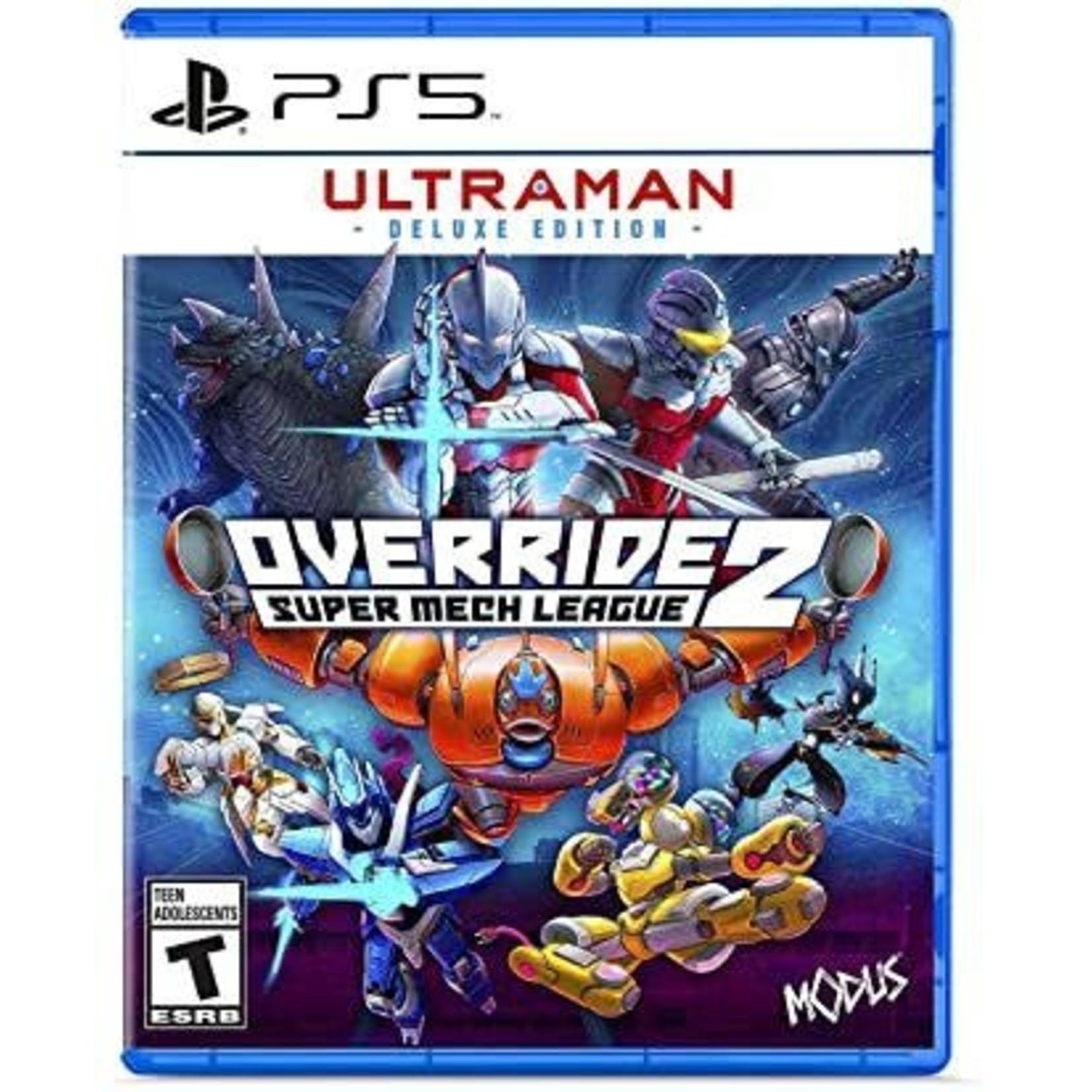 PS5U-Override 2 Super Mech League Ultraman Deluxe Edition