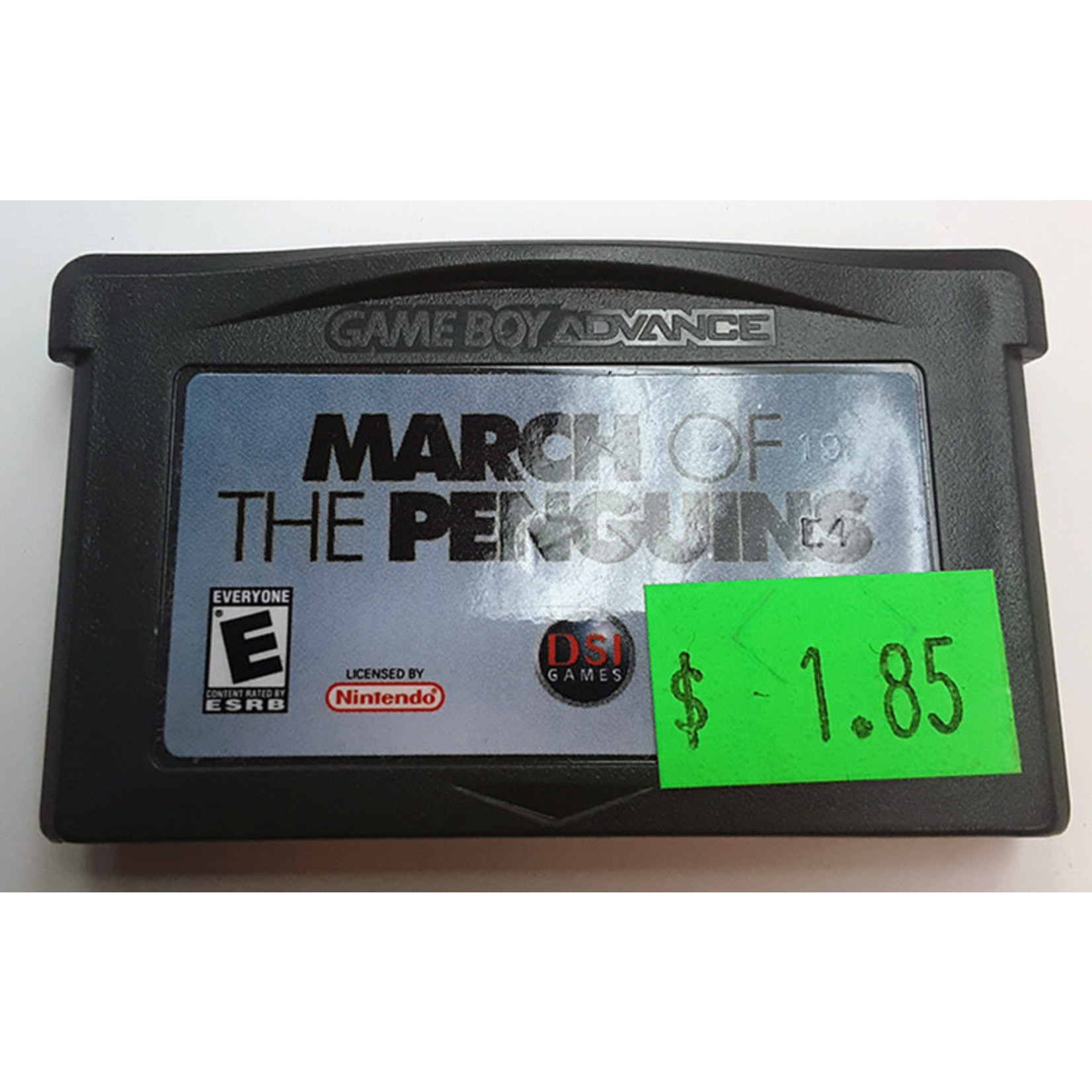 GBAu-March of the Penguins (cartridge)