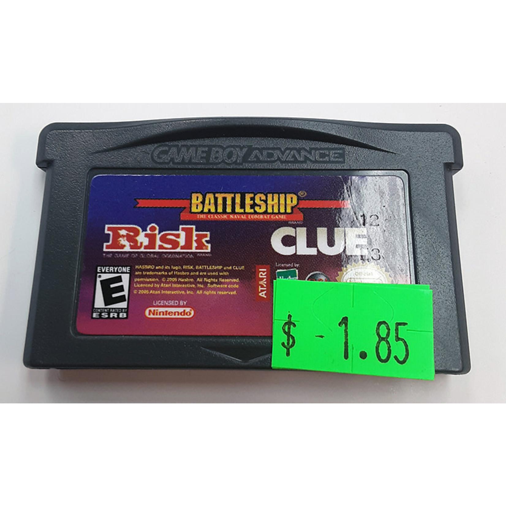 GBAu-Battleship / Risk / Clue (cartridge)