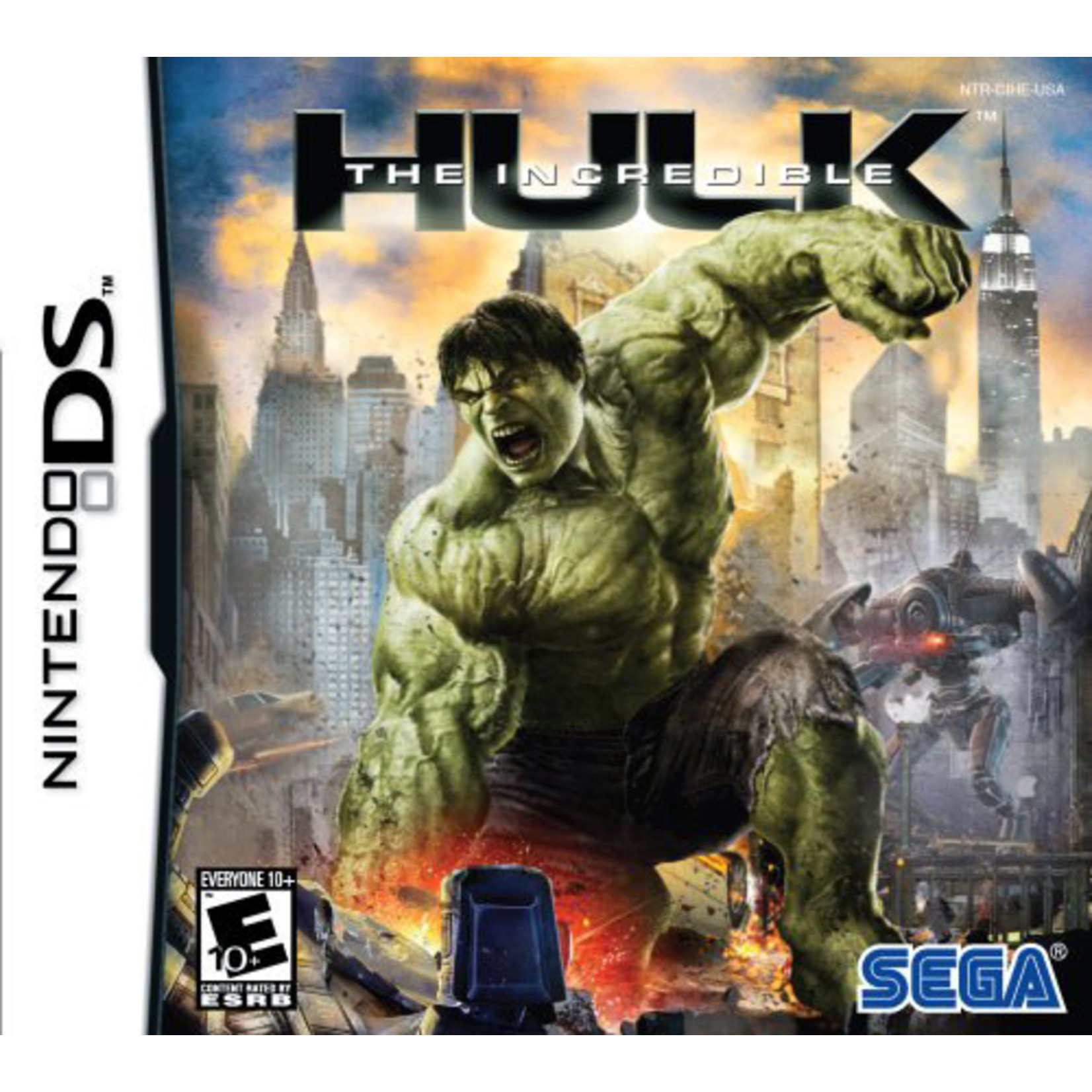 DS-THE INCREDIBLE HULK